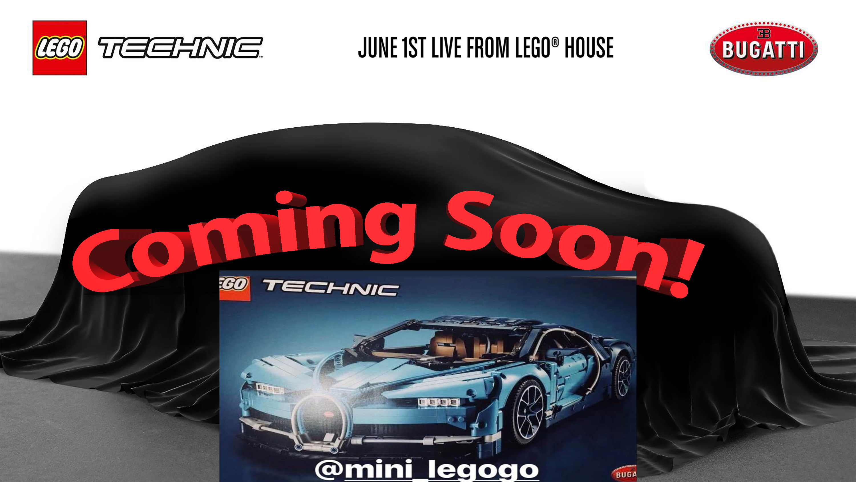 The Lego Technic Bugatti Chiron Box Leaks Just Hours After