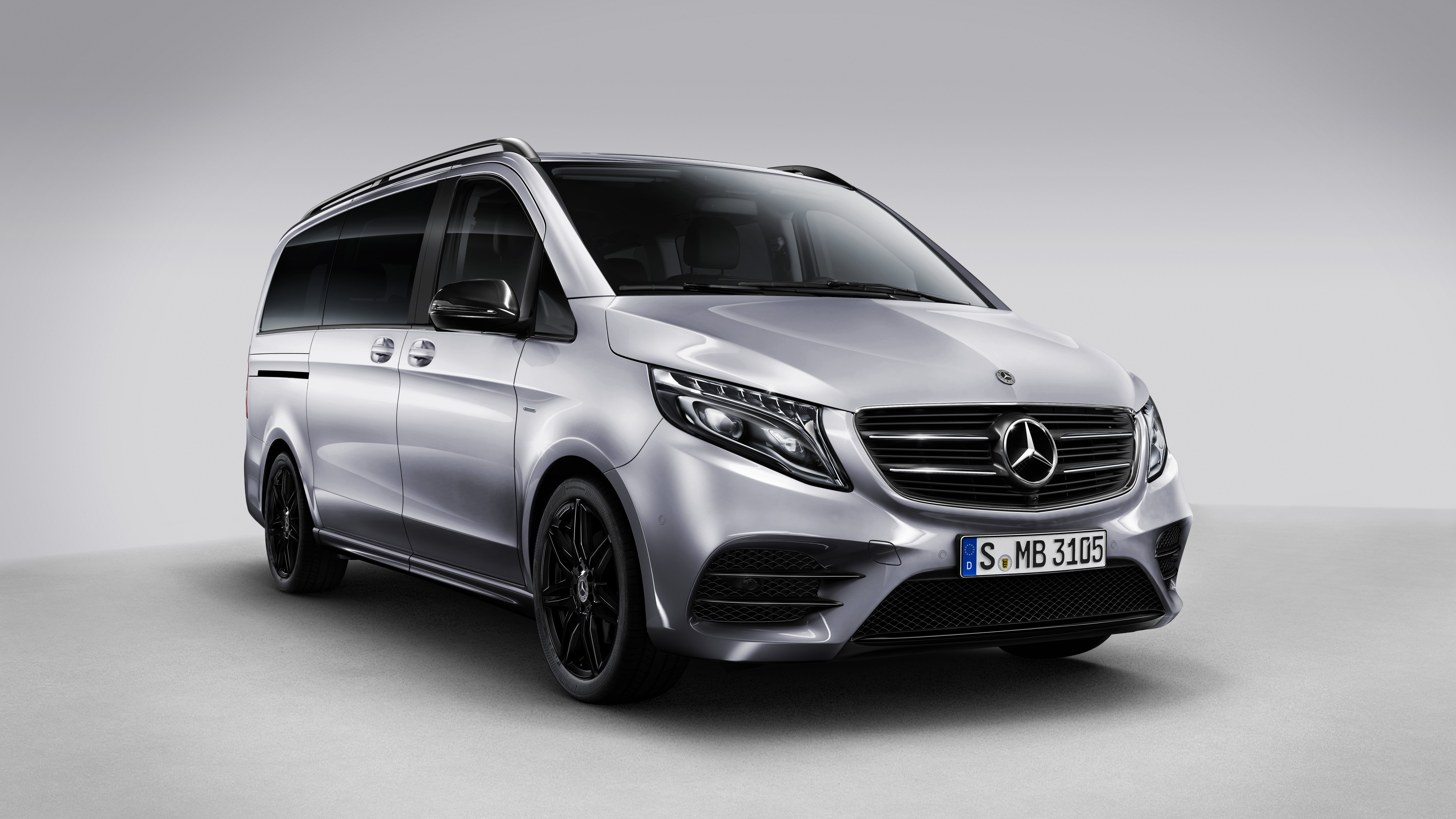 the mercedes v class night edition is the worst thing to. Black Bedroom Furniture Sets. Home Design Ideas
