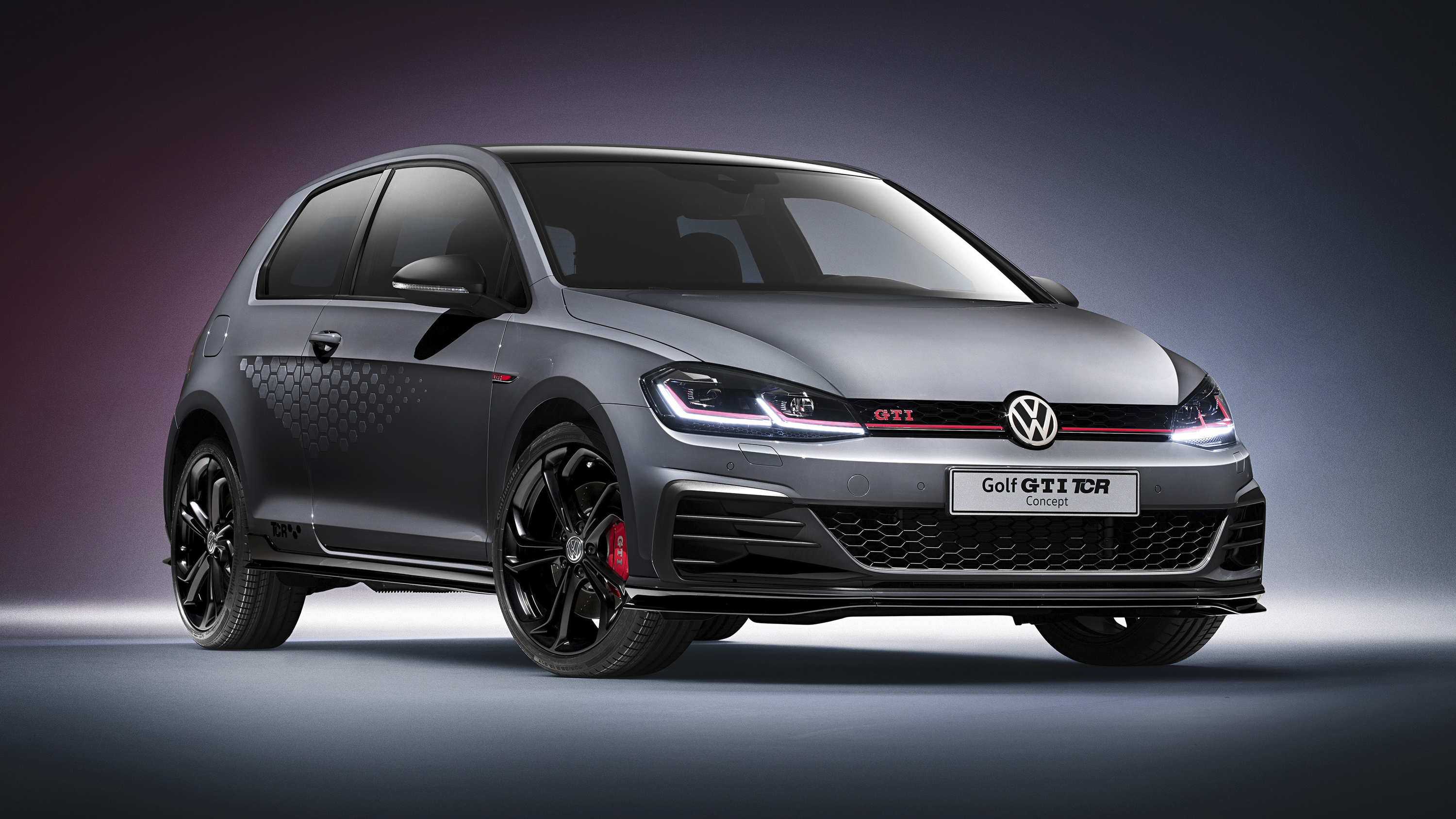 2018 Volkswagen Golf GTI TCR Concept Pictures, Photos, Wallpapers.