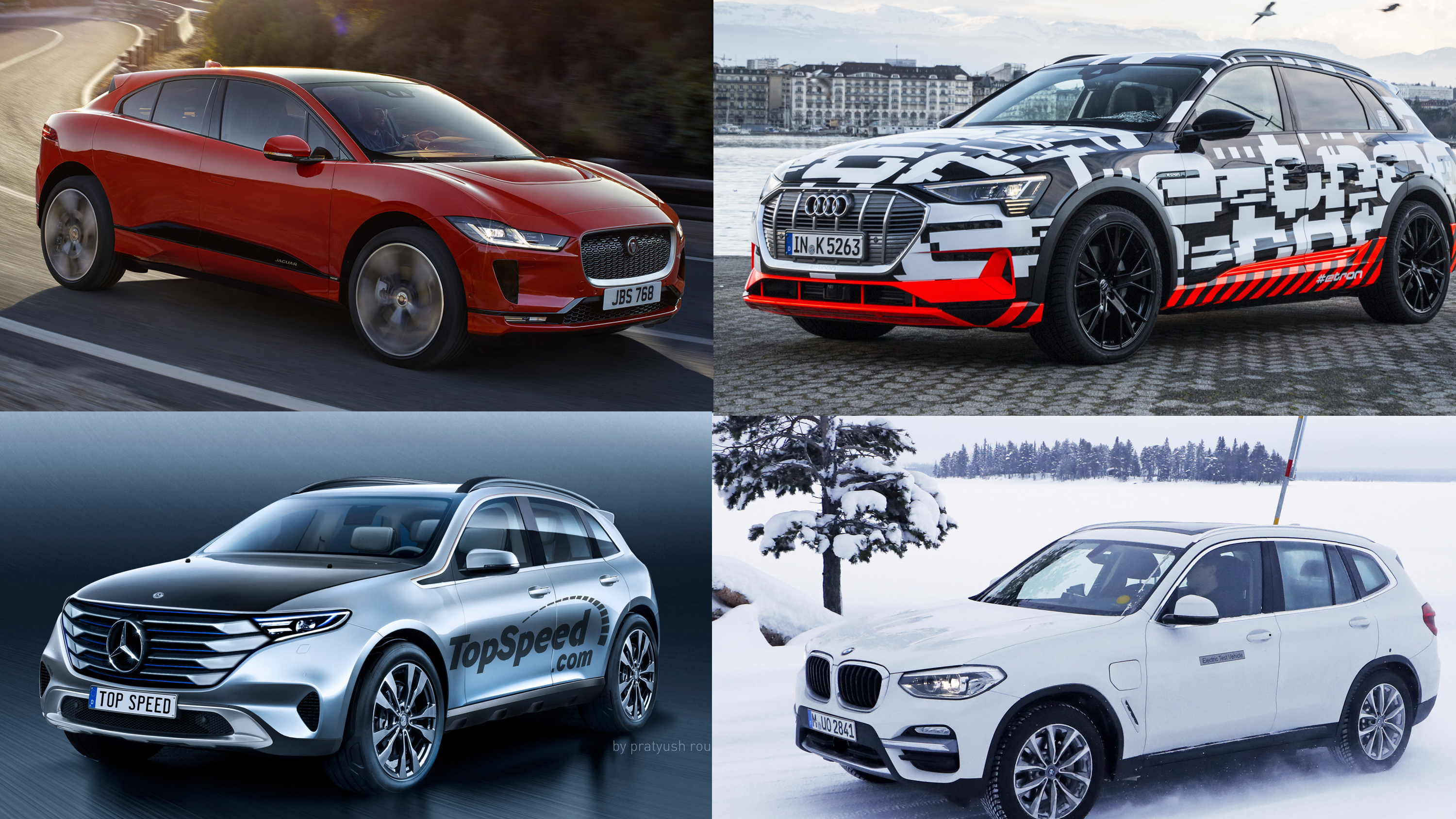 Five Electric Luxury Suvs That Ll Get The Gas Monkey Off Your Back