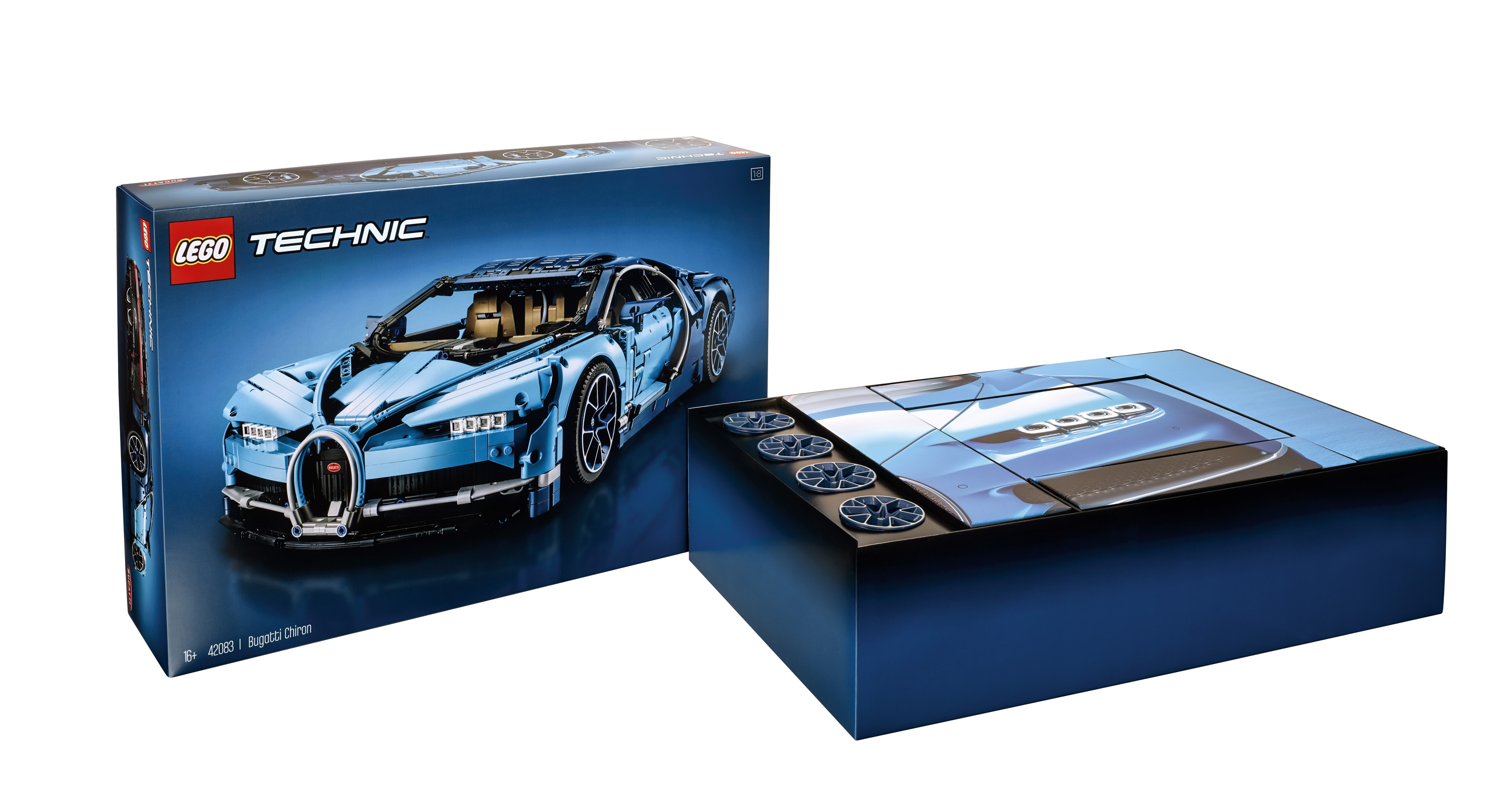 The Lego Technic Bugatti Chiron Is So Precisely Detailed