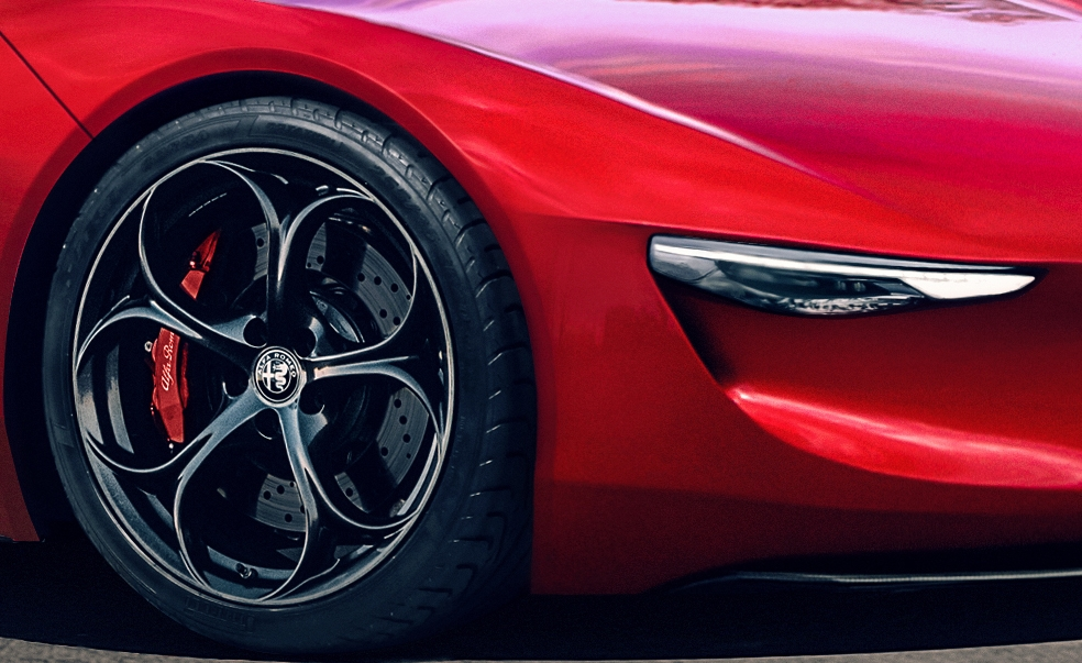 The New Alfa Romeo 8c Could Be An 800 Horsepower Supercar Stalker