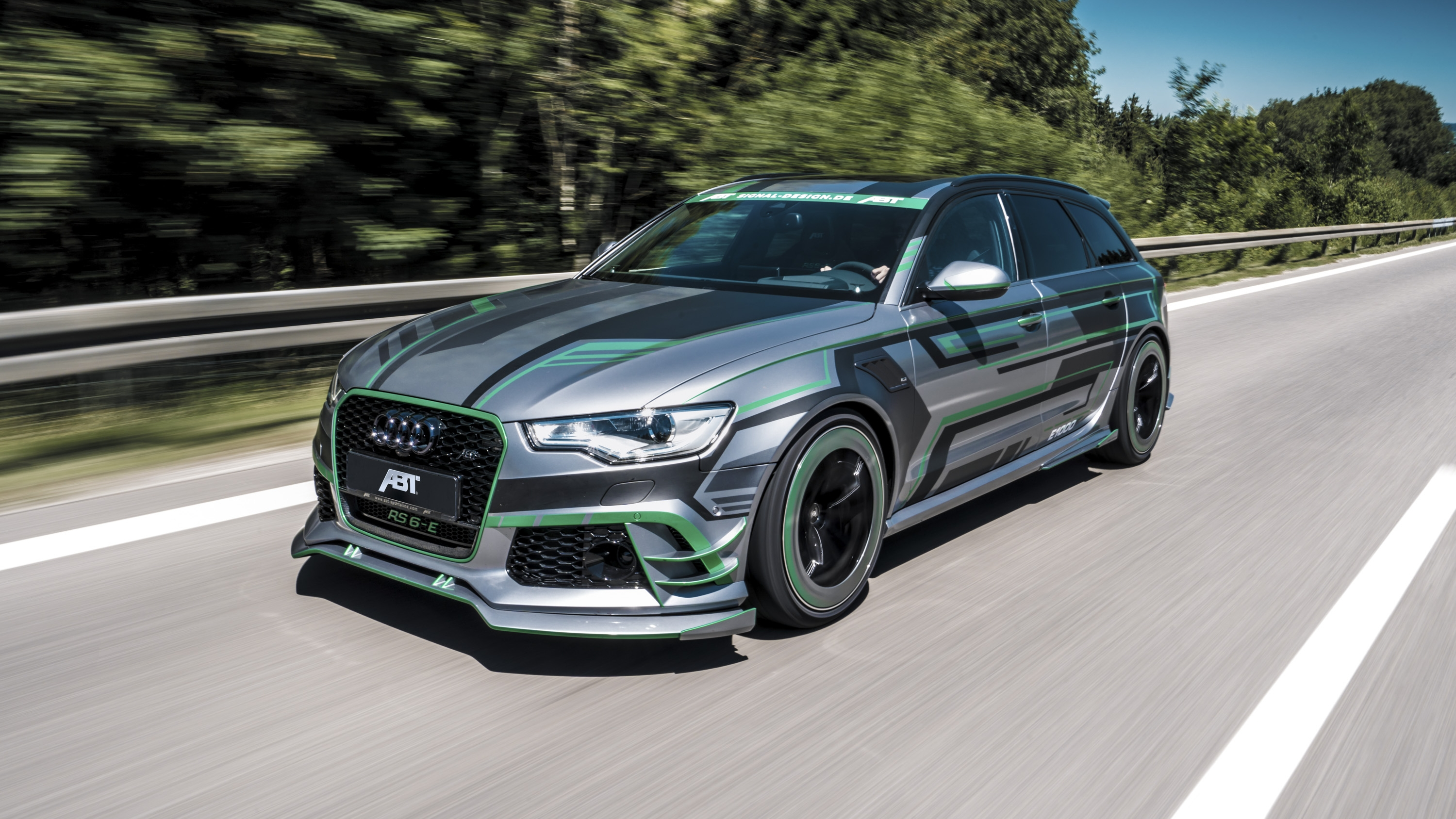 2018 audi rs6 e hybrid concept by abt top speed. Black Bedroom Furniture Sets. Home Design Ideas