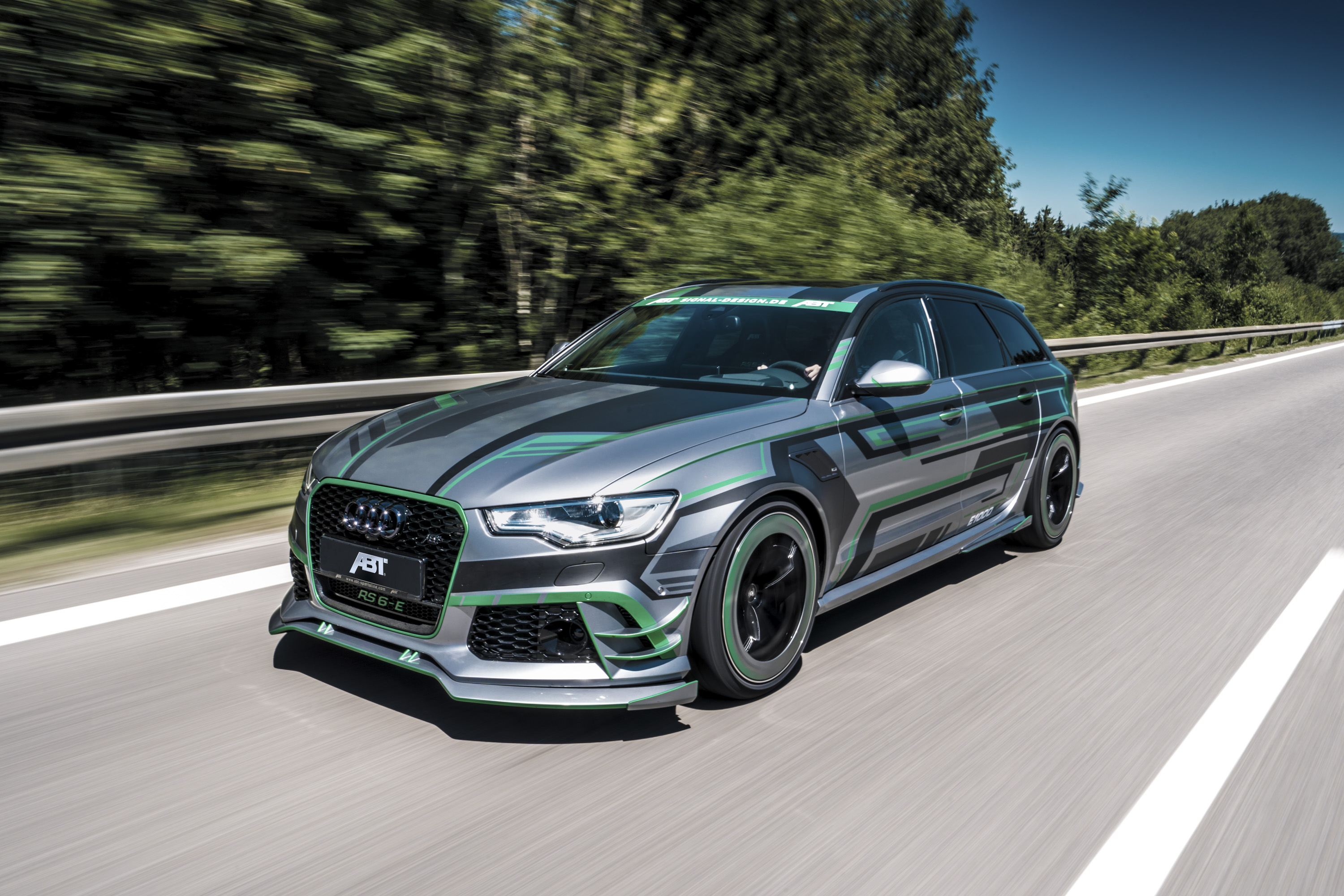 Audi RSE Hybrid Concept By ABT Top Speed - Audi rs6 2018