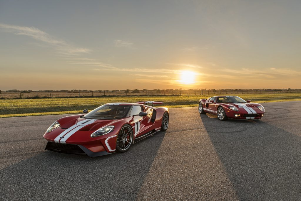 Celebrate The Th Of July With A Special Ride In The  Ford Gt Heritage Edition Top Speed