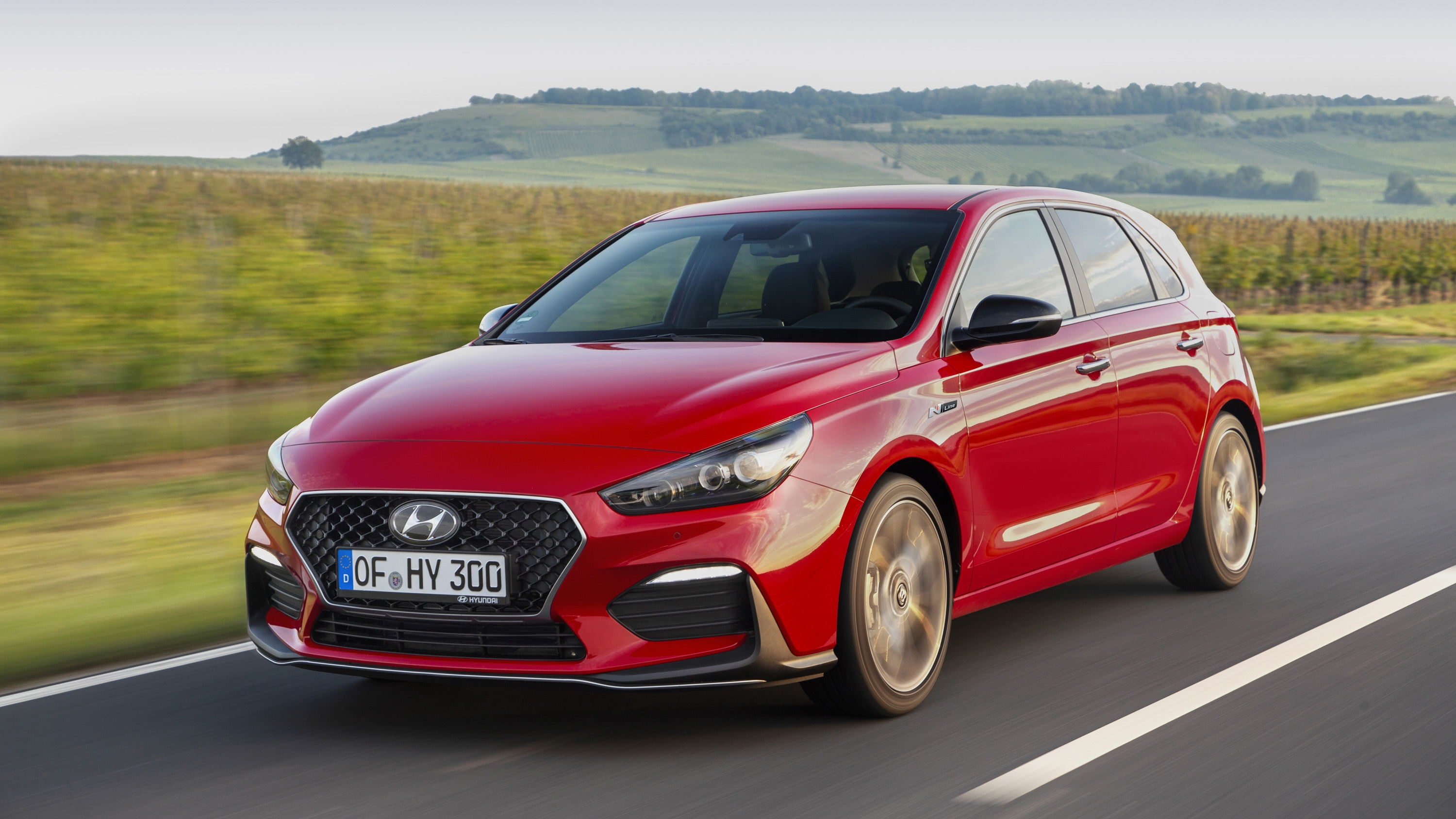 the hyundai i30 n line isn 39 t a hot hatch yet it looks stimulating like one top speed. Black Bedroom Furniture Sets. Home Design Ideas