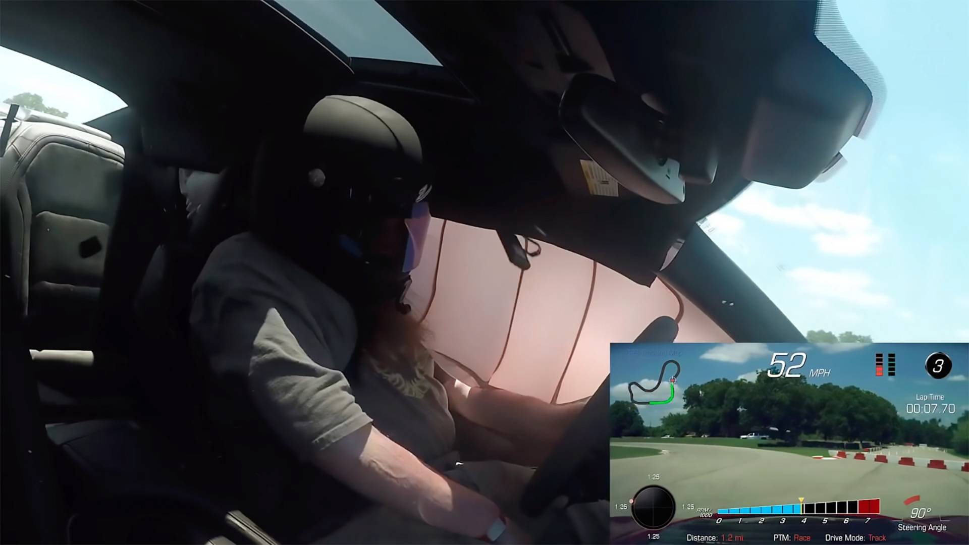 watch the side curtain airbags of the 2018 camaro zl1 deploy while driven on the track top speed. Black Bedroom Furniture Sets. Home Design Ideas