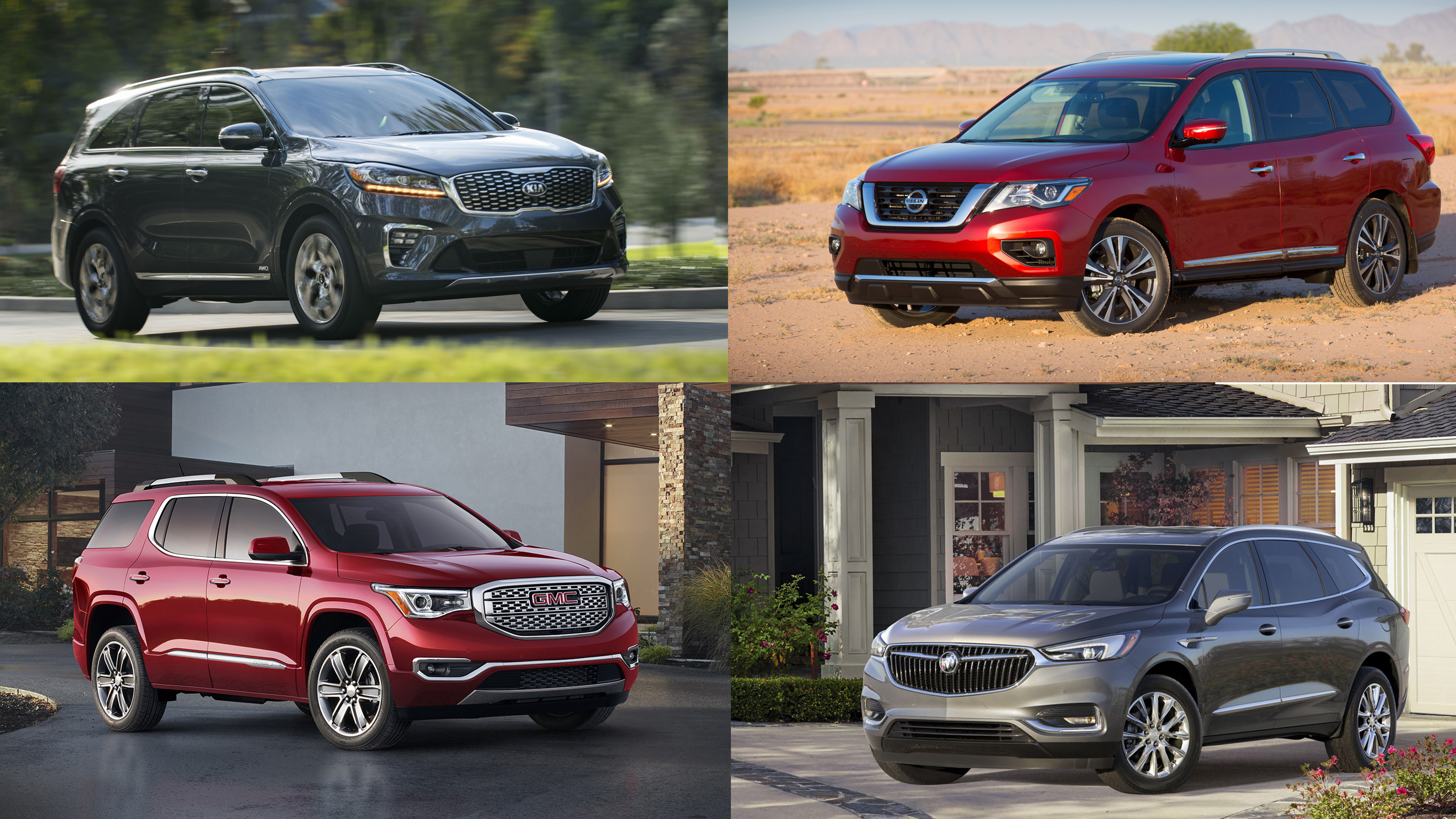 10 Best 3 Row Suvs Of 2018 Top Speed
