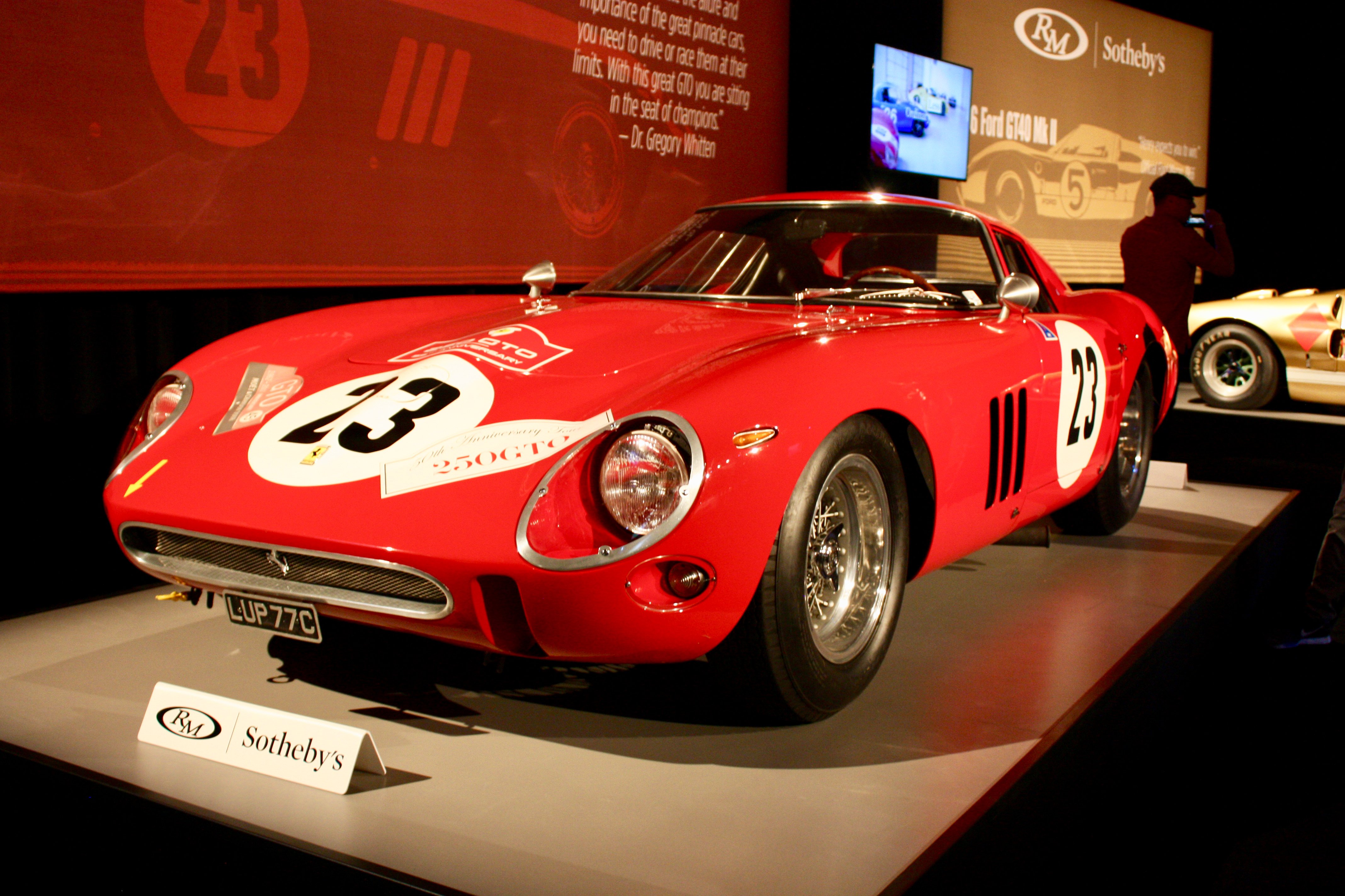 1962 Ferrari 250 Gto Becomes The Most Expensive Car Ever
