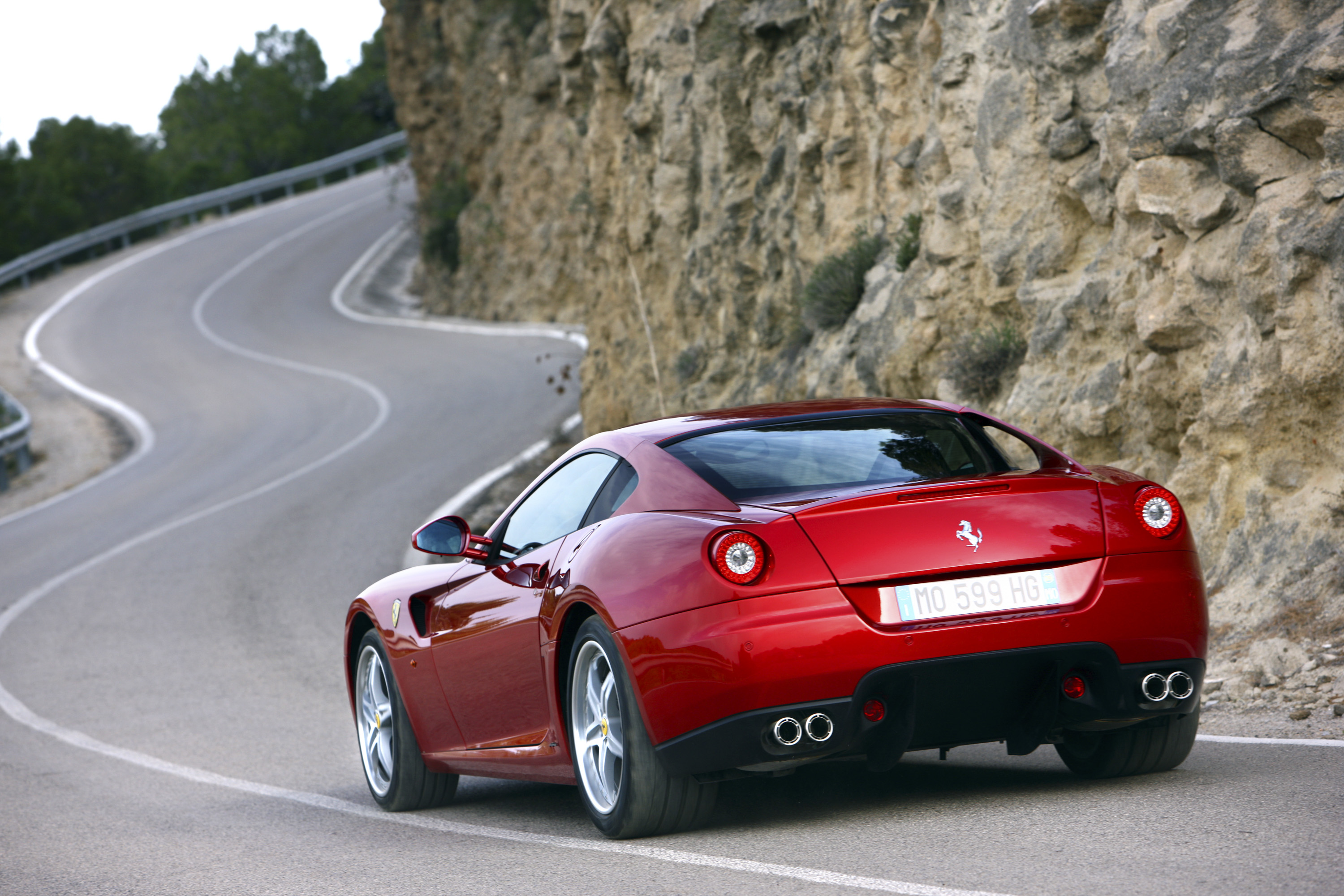 2006 Ferrari 599 GTB | Top Speed. »