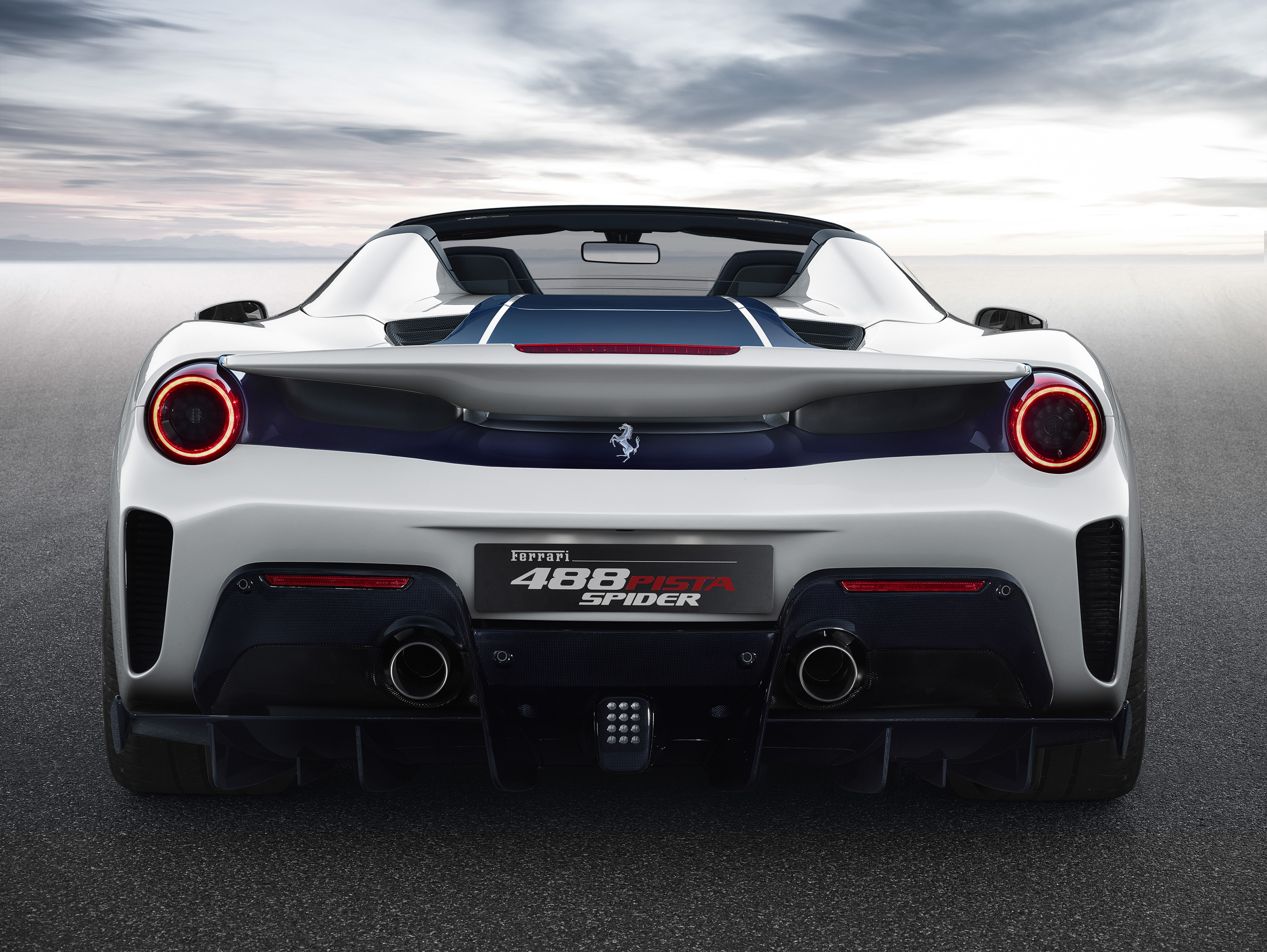 2019 Ferrari 488 Pista Spider Top Speed