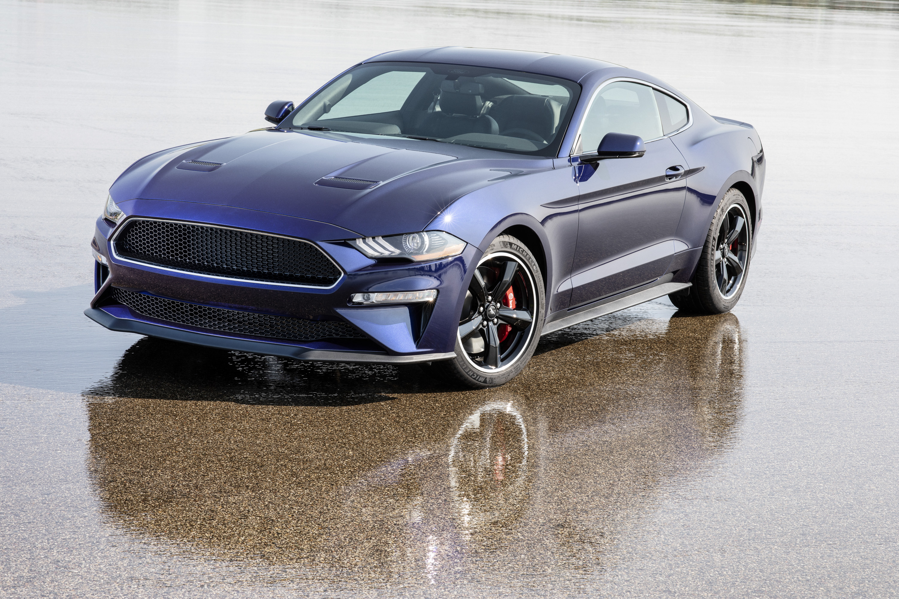 Ford has a kona blue mustang bullitt thats going to be up for raffle