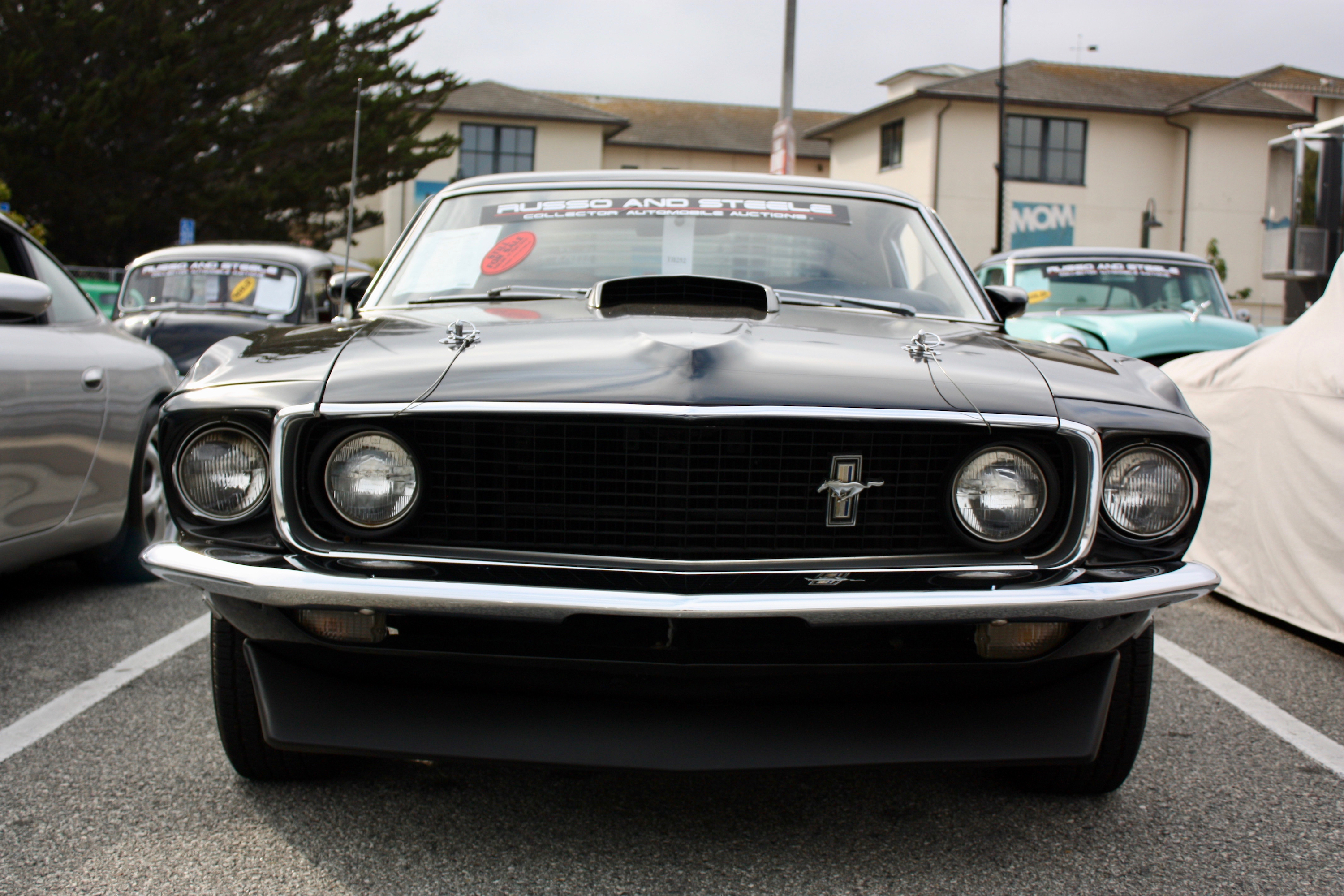 1969 ford mustang mach 1 top speed