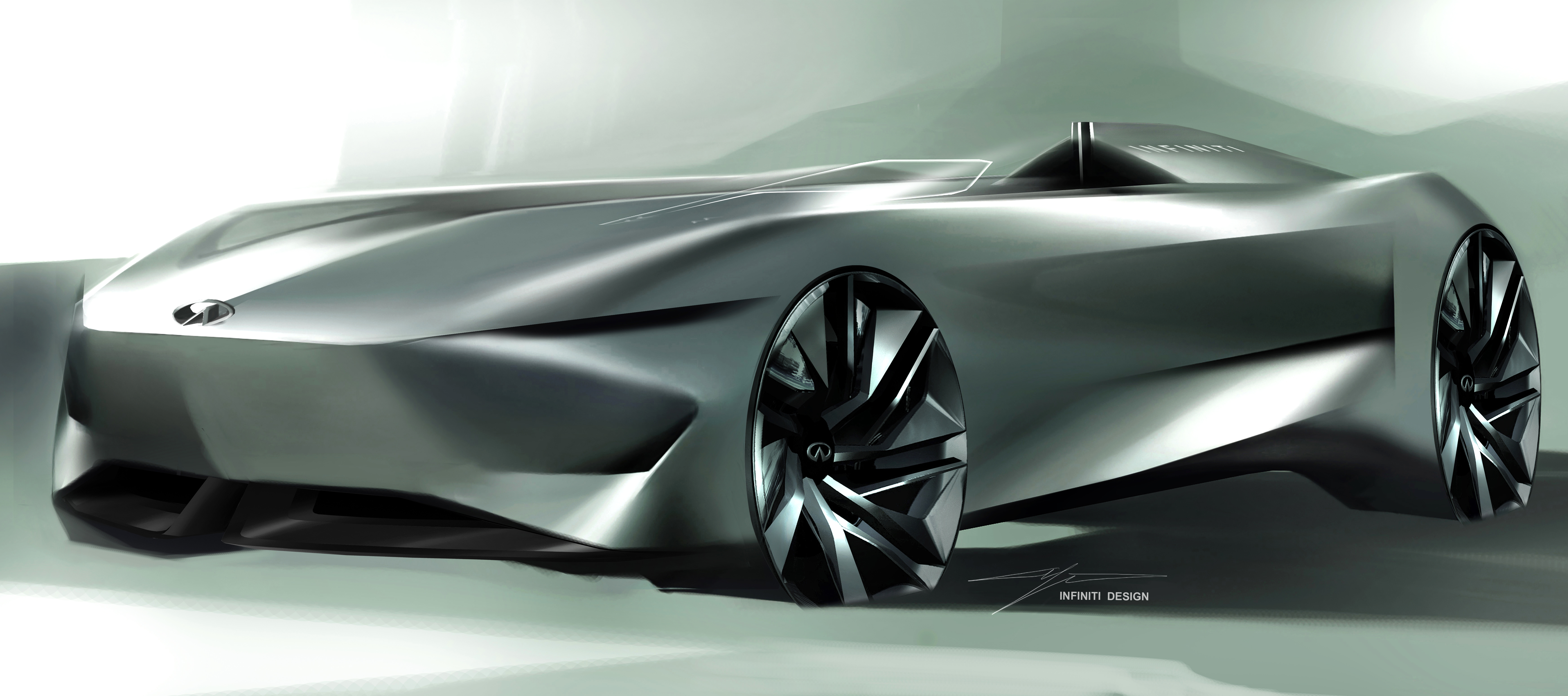 Infiniti S Single Seater Concept Teased With Sleek Lines