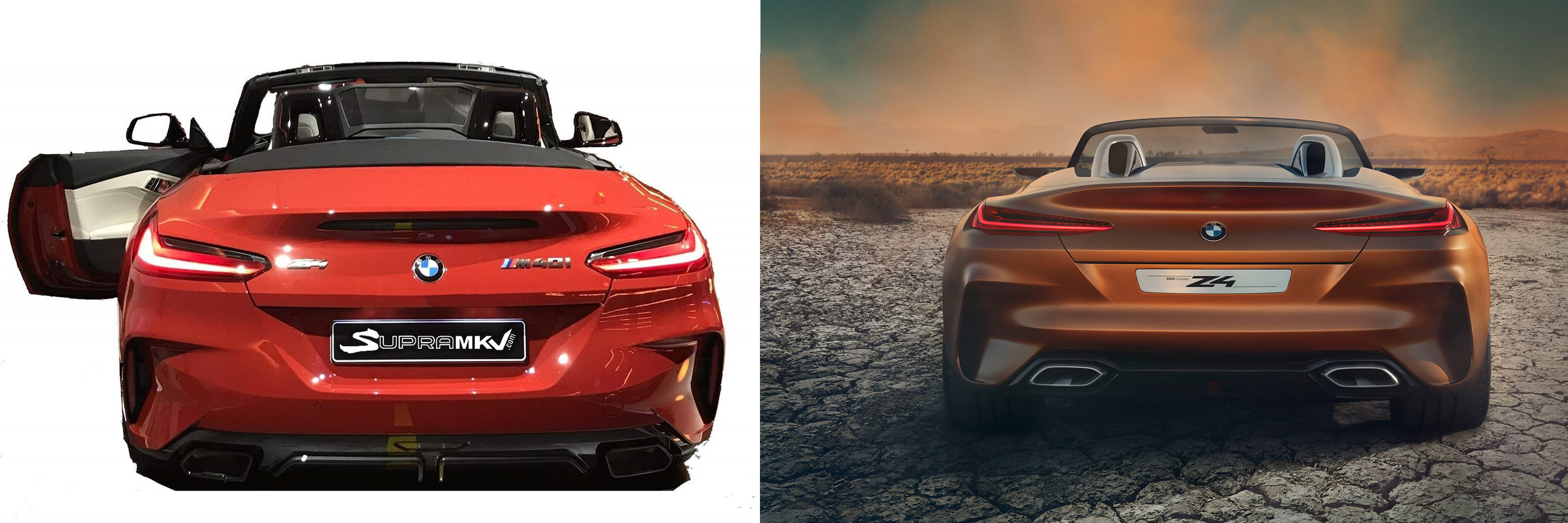 Leaked BMW Z4 Concept Will Make Supra Fans Weep Tears Of Joy