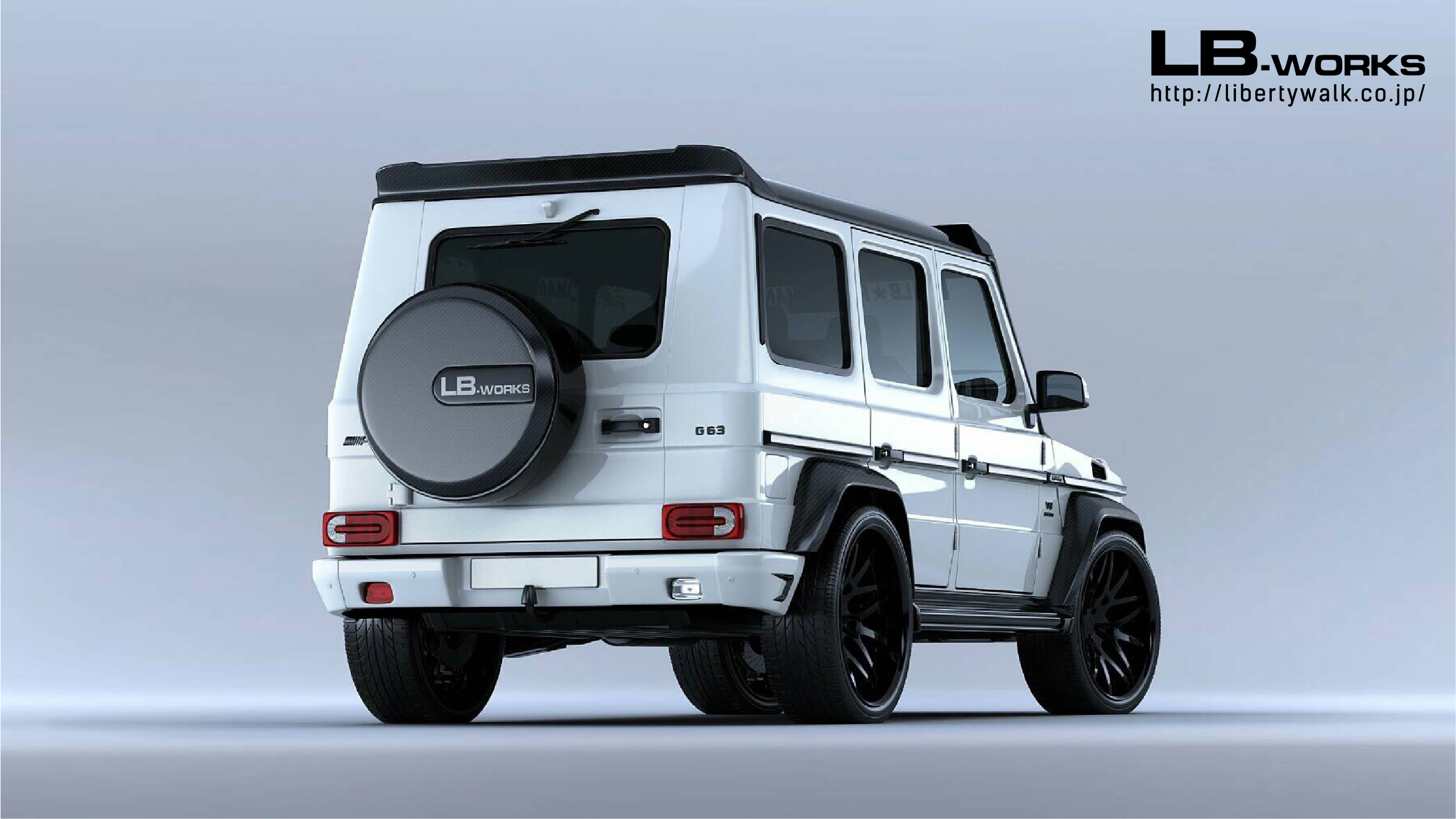 Liberty Walk Has A Body Kit For The Mercedes G-Class And The Suzuki