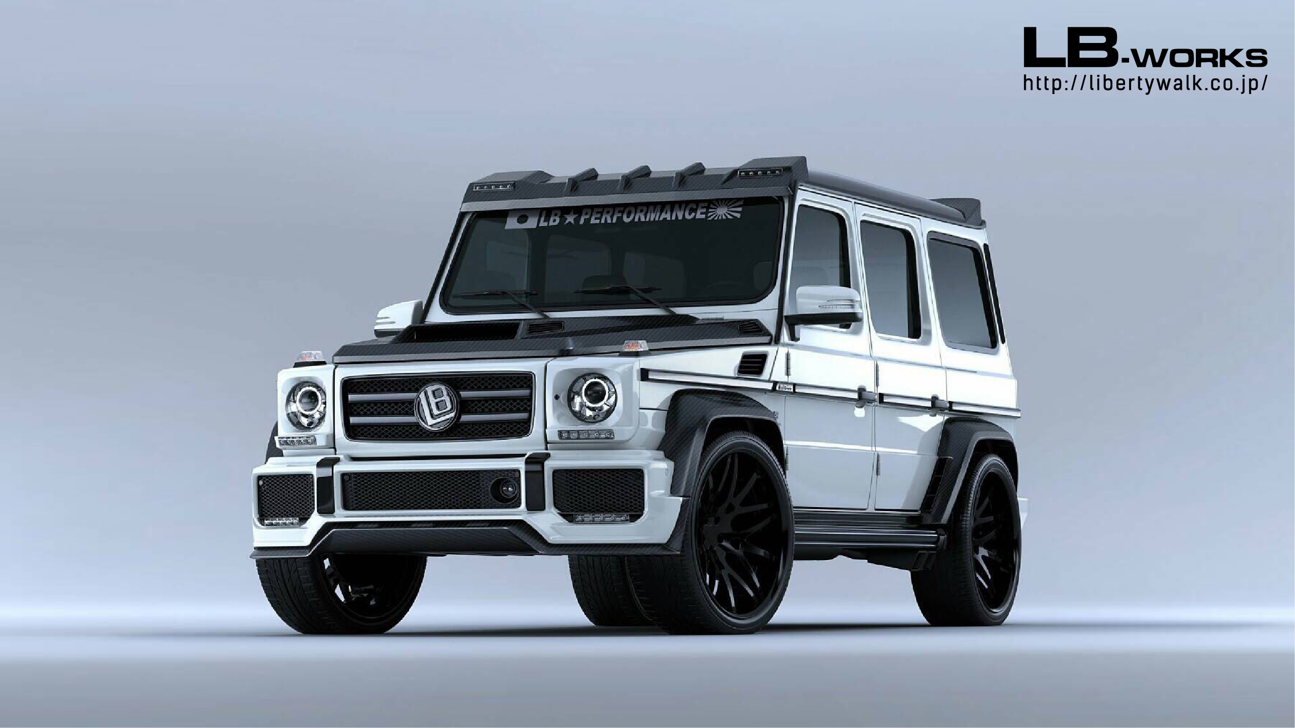 liberty walk has a body kit for the mercedes g class and. Black Bedroom Furniture Sets. Home Design Ideas