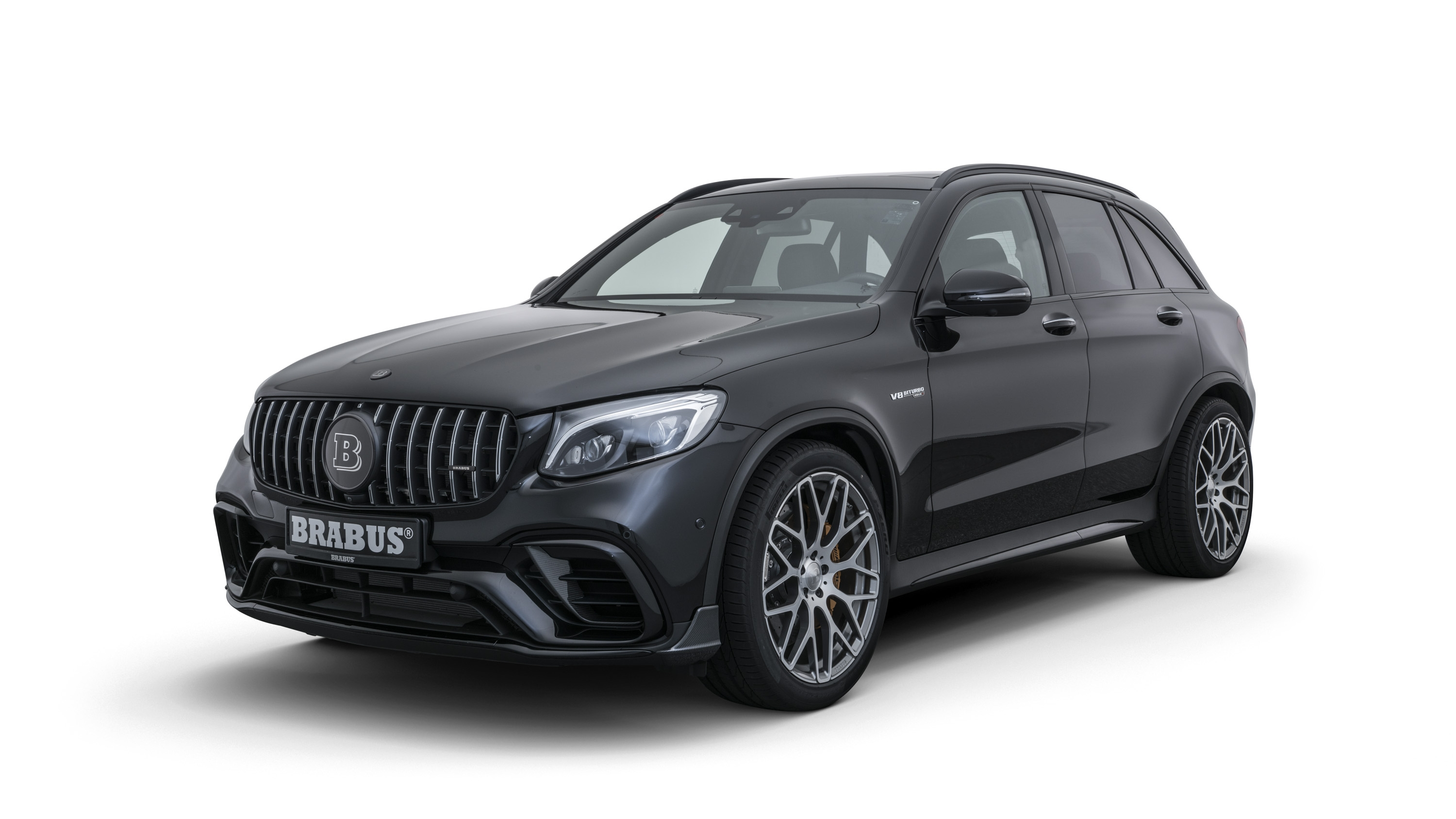 2018 mercedes amg glc 63 s by brabus top speed. Black Bedroom Furniture Sets. Home Design Ideas