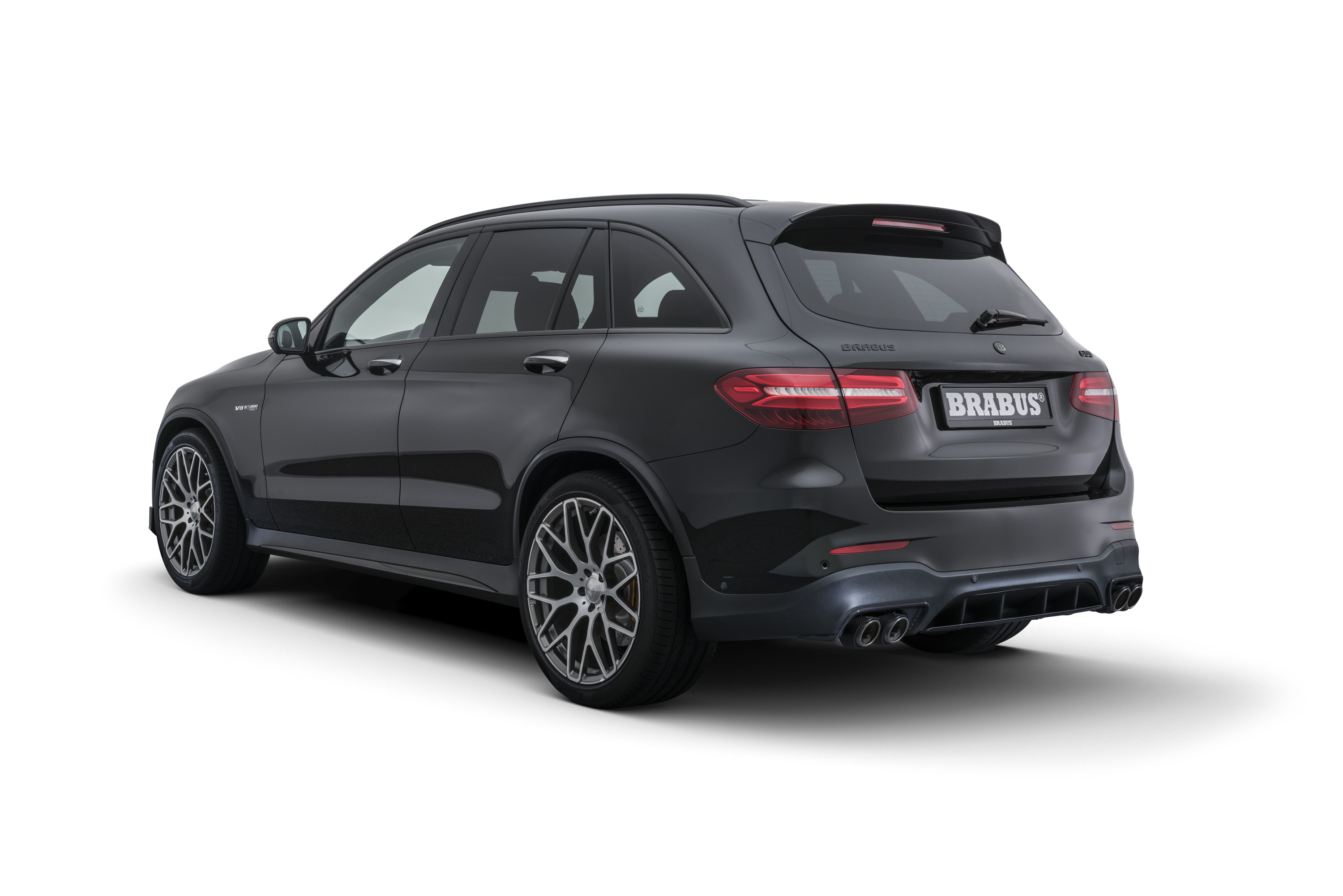 2018 Mercedes Amg Glc 63 S By Brabus Top Speed