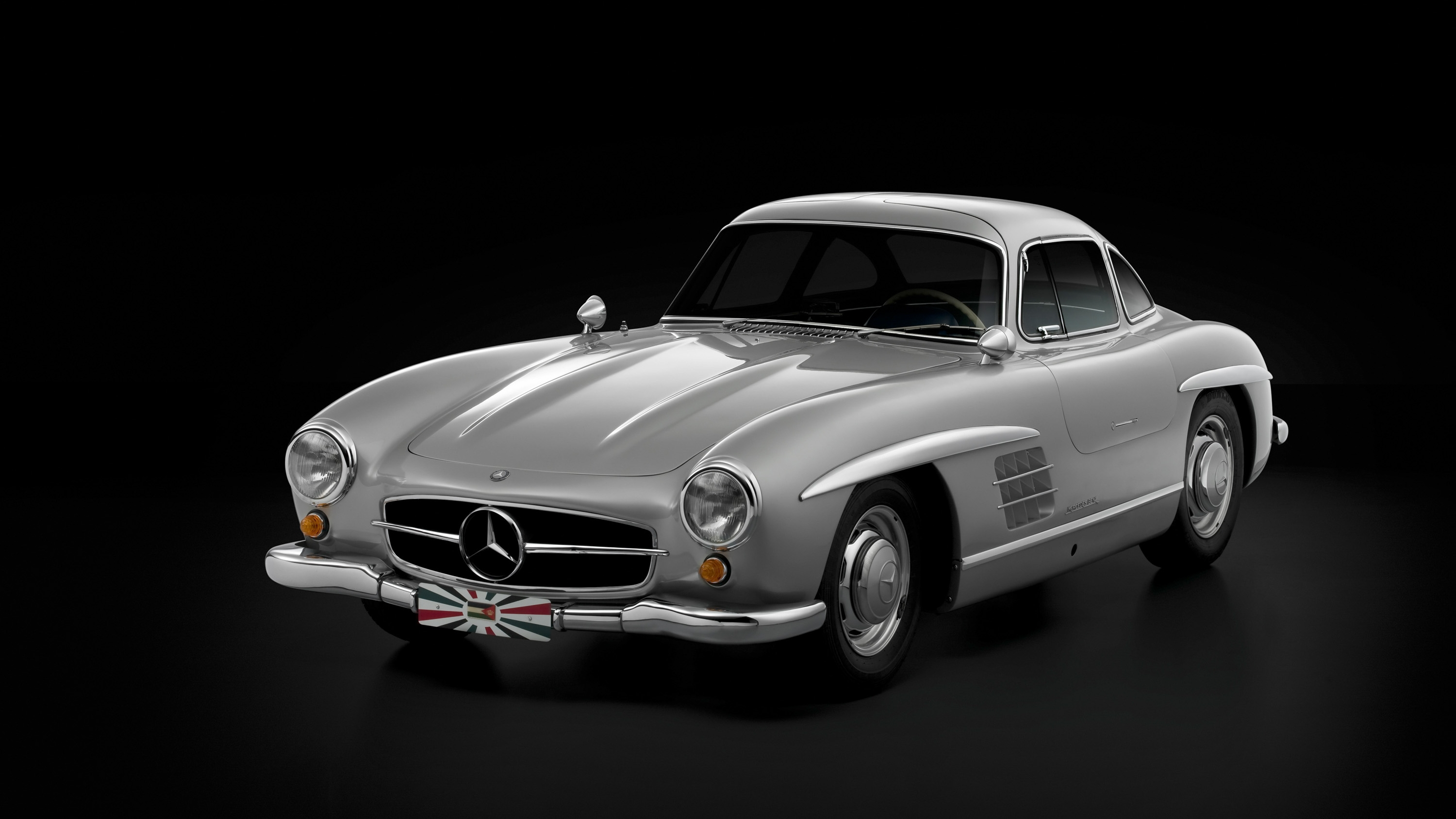Super Rare 1955 Mercedes Benz 300sl Gullwing Goes Gone In 60