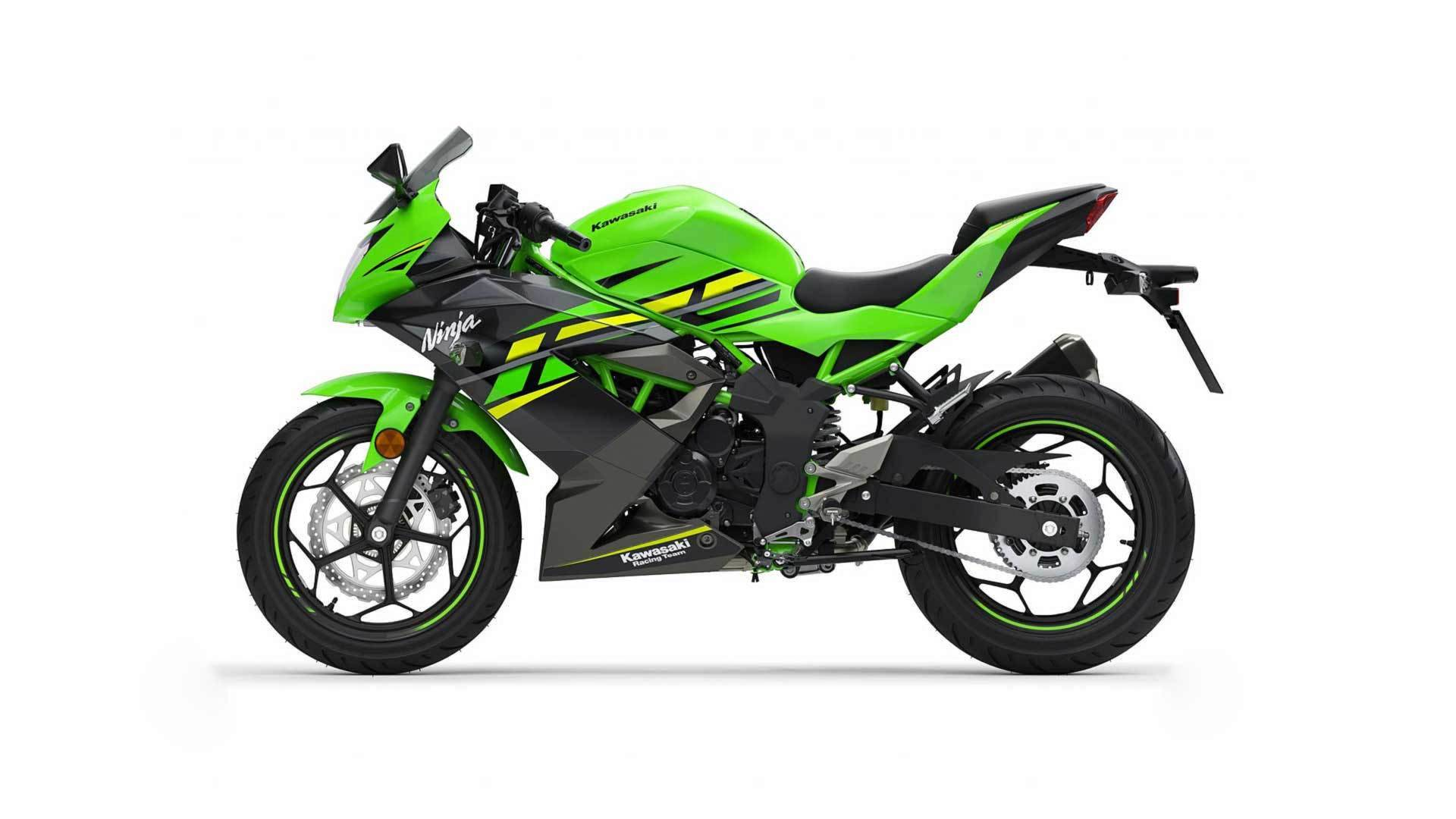 Kawasaki Is Out With Its New 125cc Ninja And Z Babies Top Speed