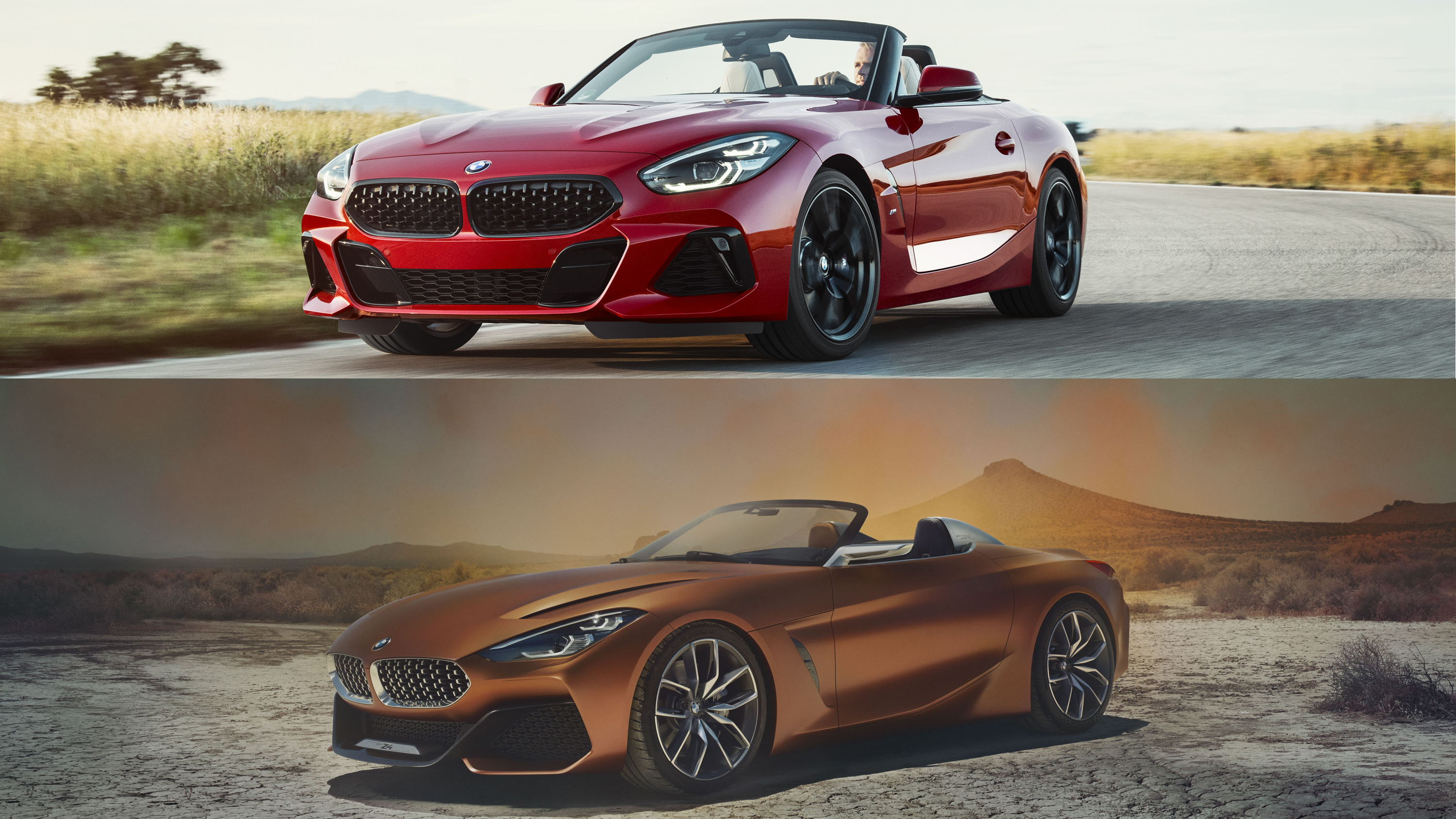 2019 Bmw Z4 Vs 2017 Bmw Z4 Concept Top Speed