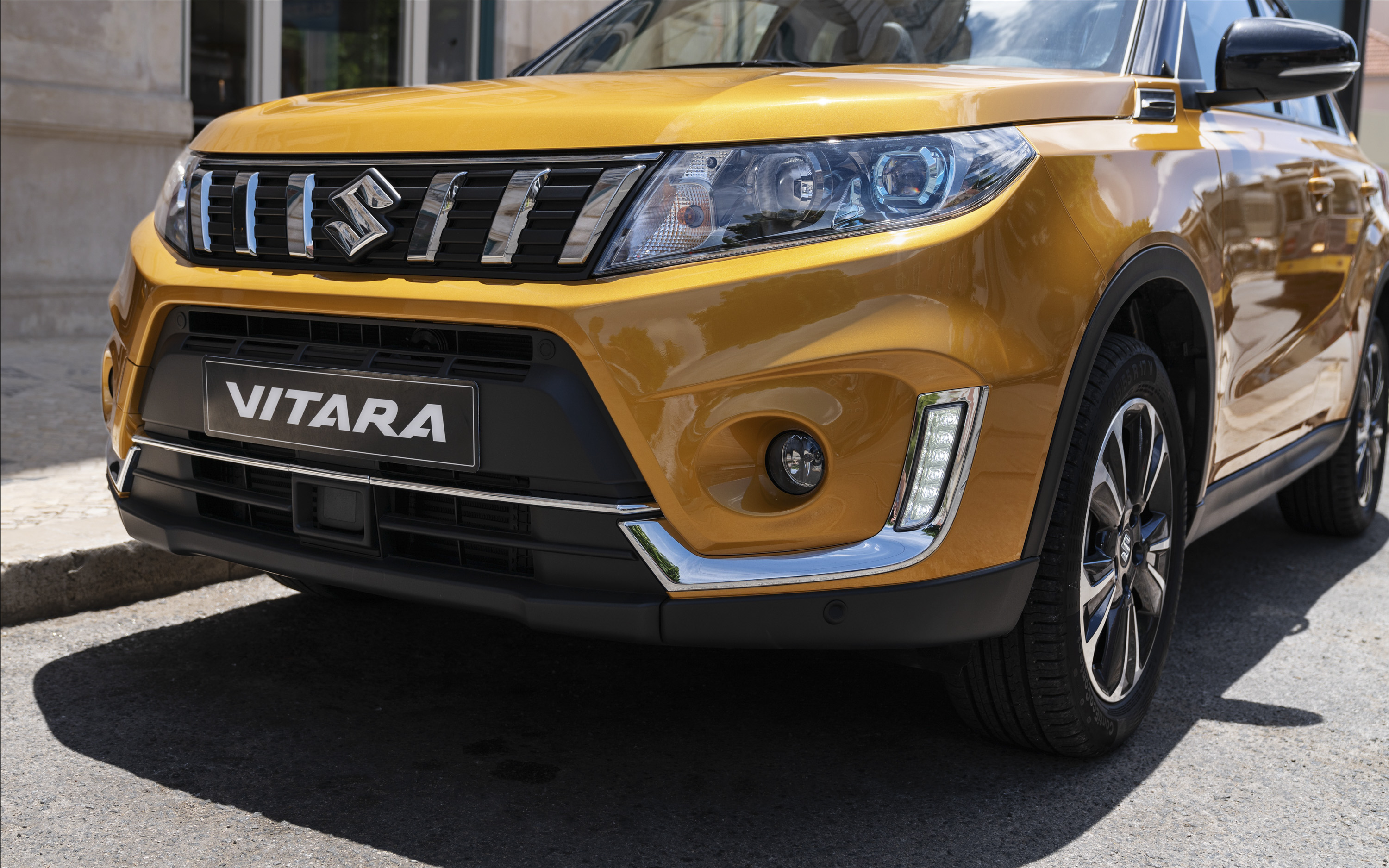 2019 Vitara Facelift Looks Aggressive In These New Images Top Speed