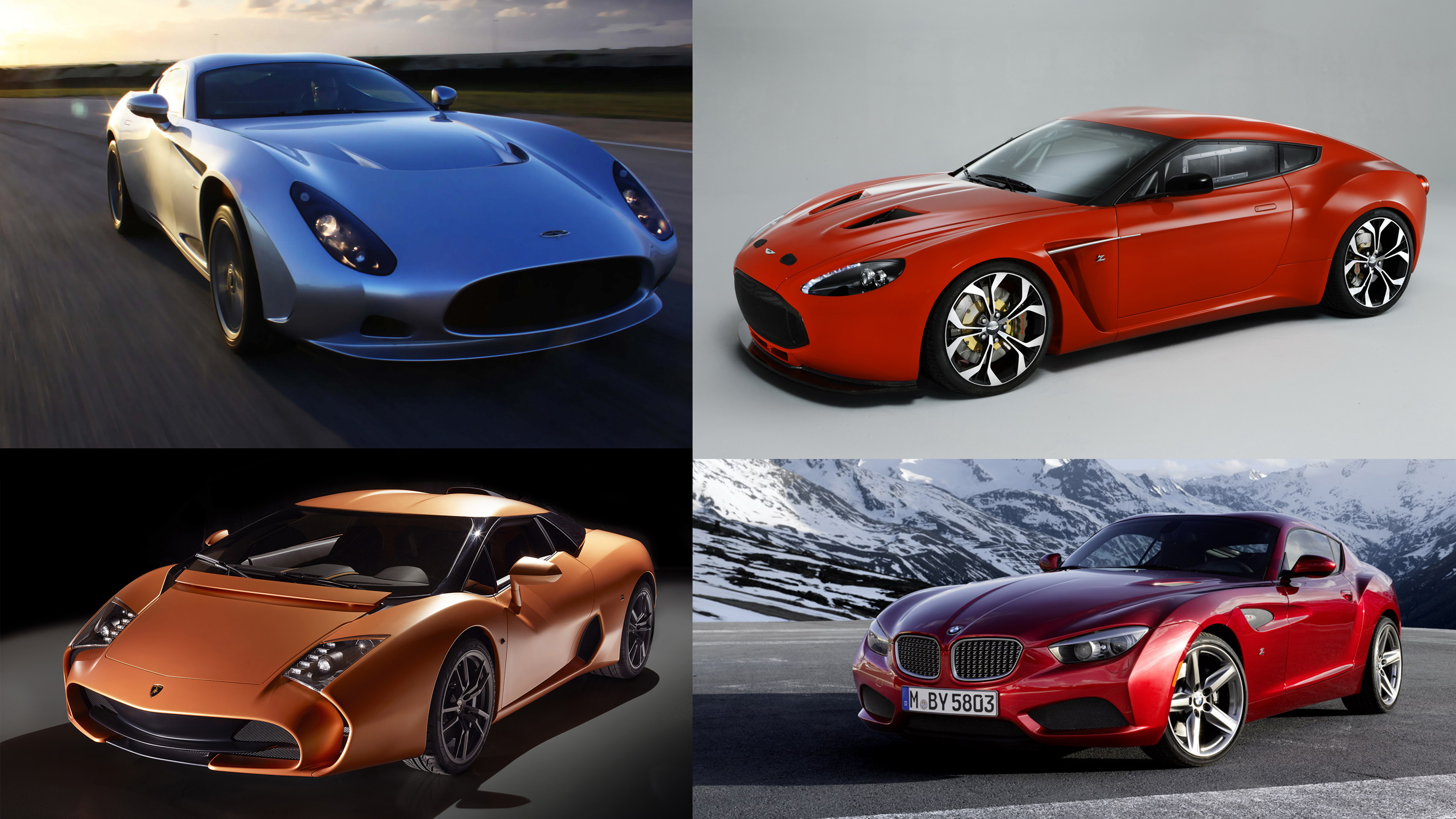 7 Striking Zagato Designed Cars From The Past Two Decades Top Speed
