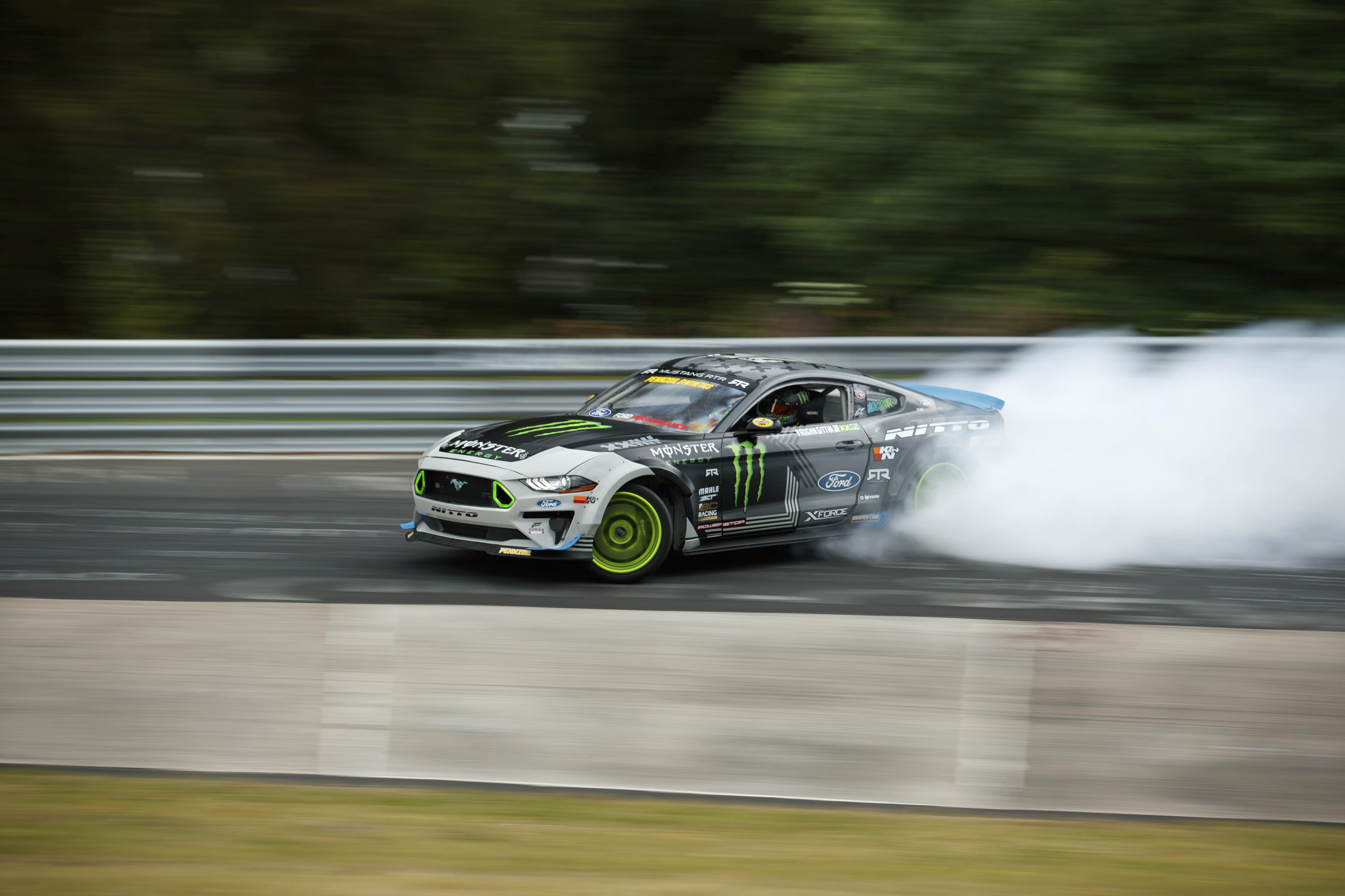 Ford Mustang RTR Drifts The Entire Nurburgring