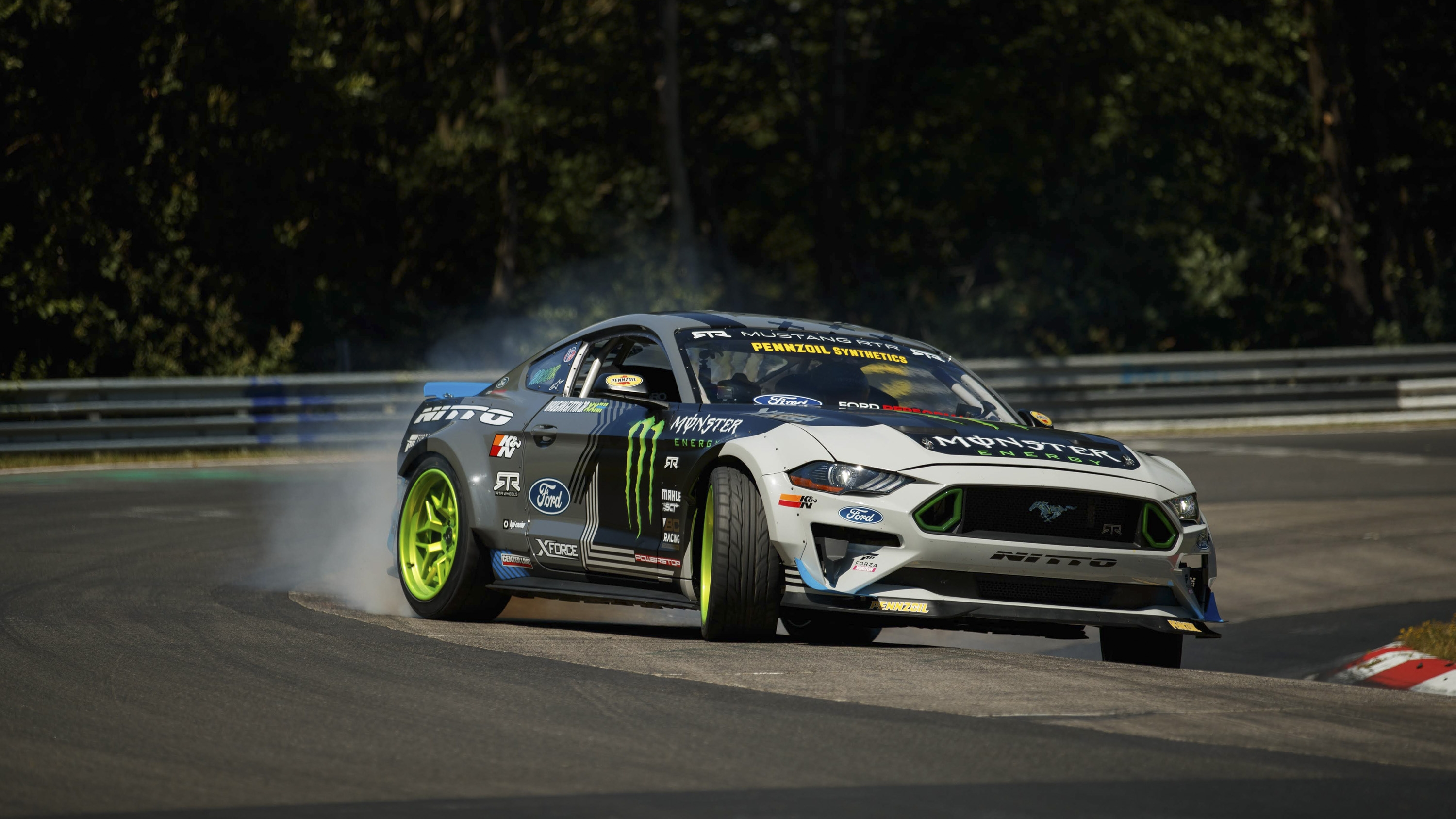 Ford Mustang Rtr Drifts The Entire Nurburgring Pictures Photos