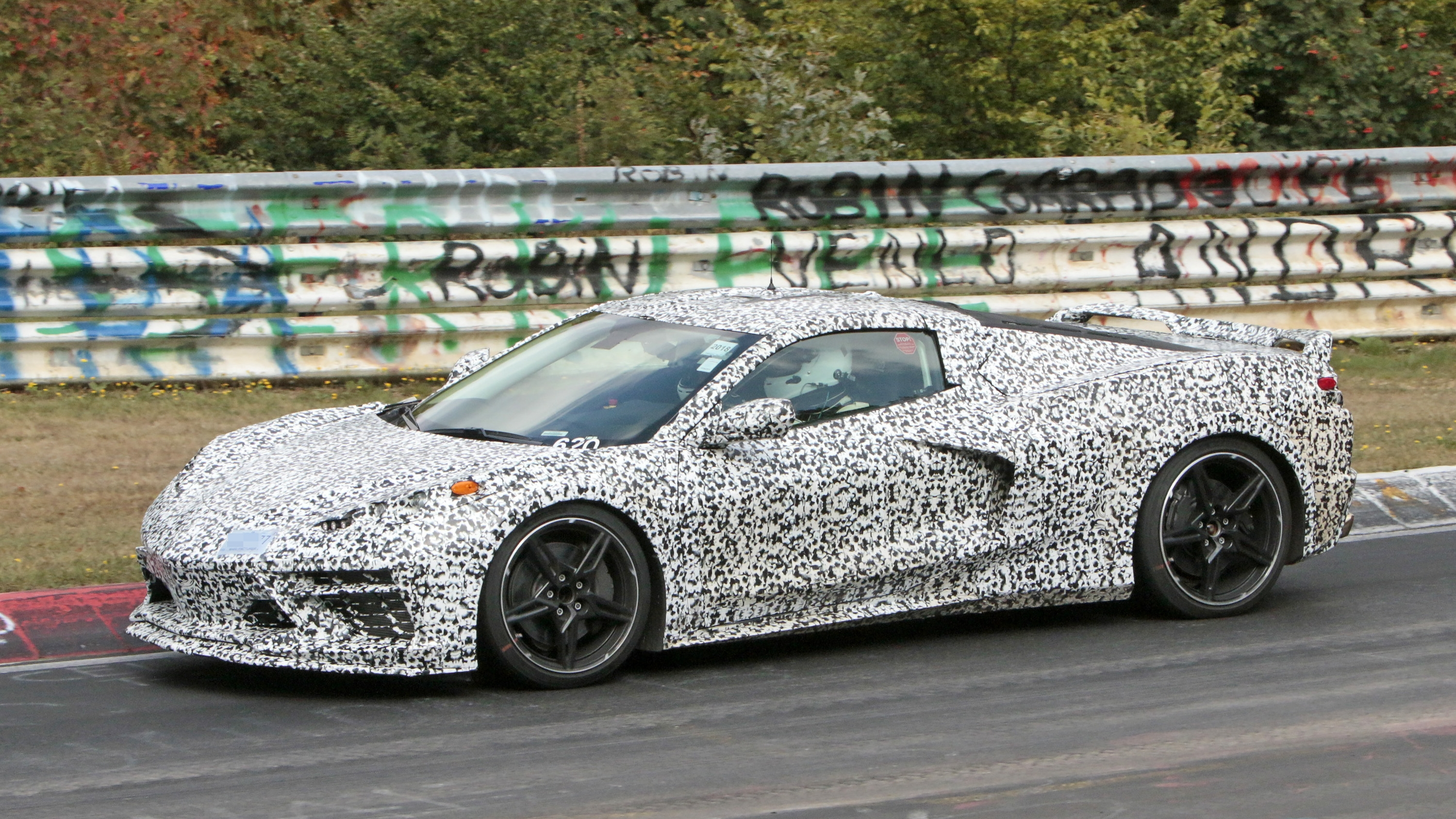 2019 Corvette Zora >> Mid-engined Chevrolet Corvette C8 Caught Testing At Nurburgring | Top Speed