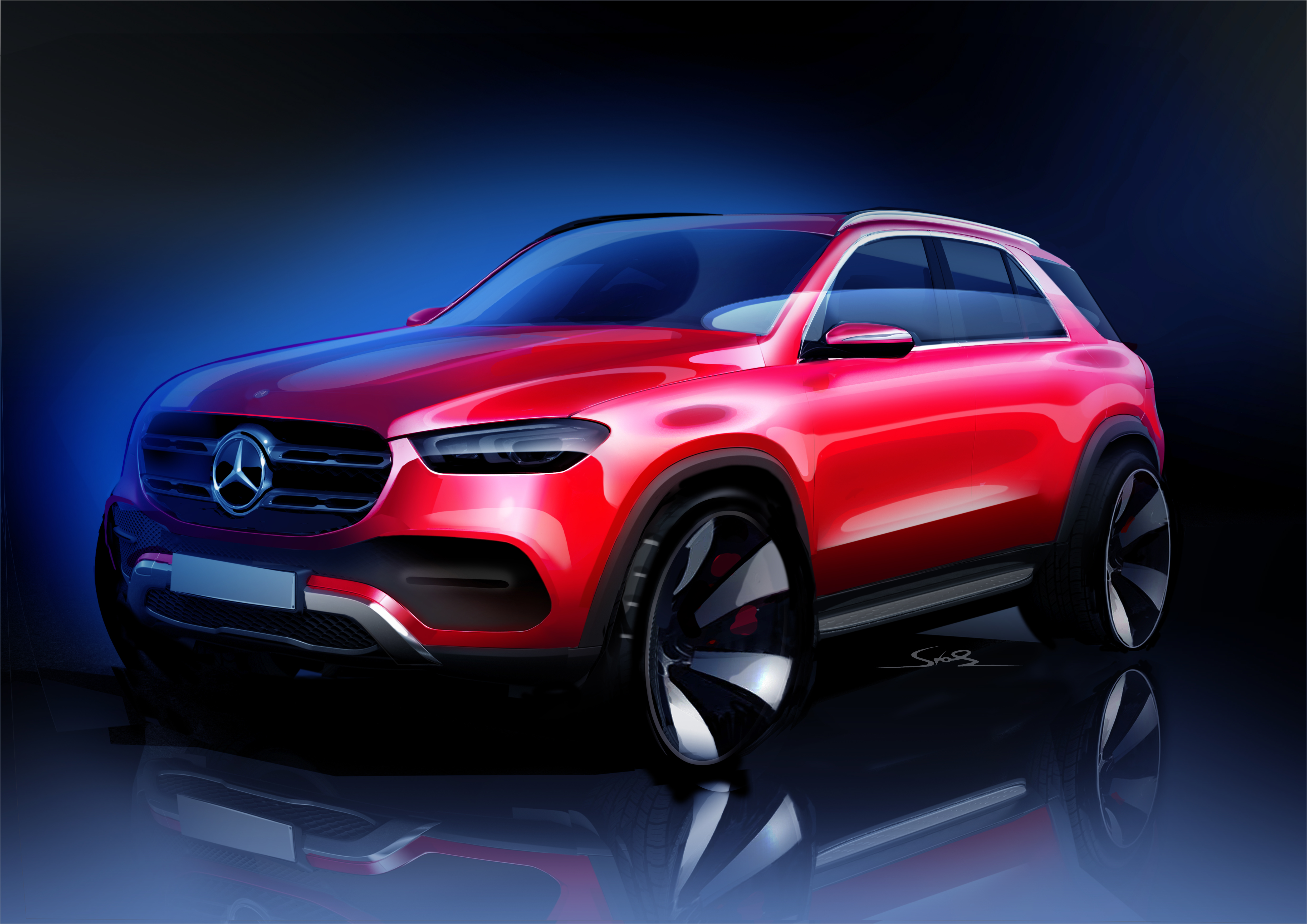 New Teaser Shows The 2019 Mercedes GLE With Some CLS DNA ...