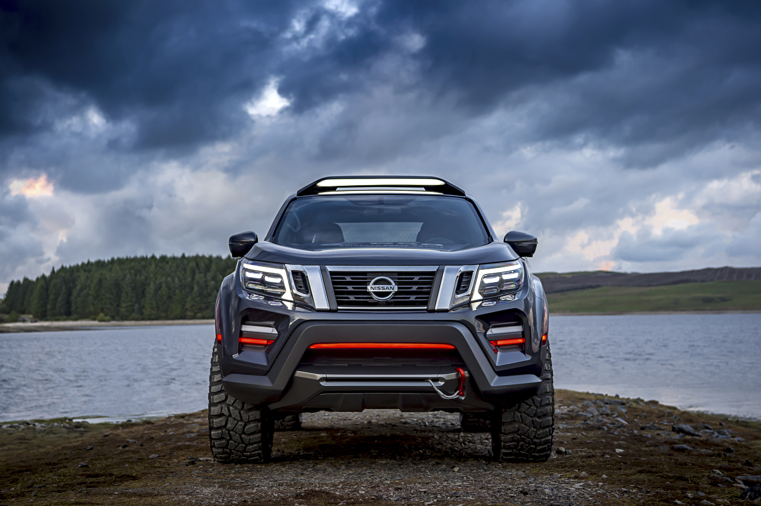2018 nissan navara dark sky concept | top speed