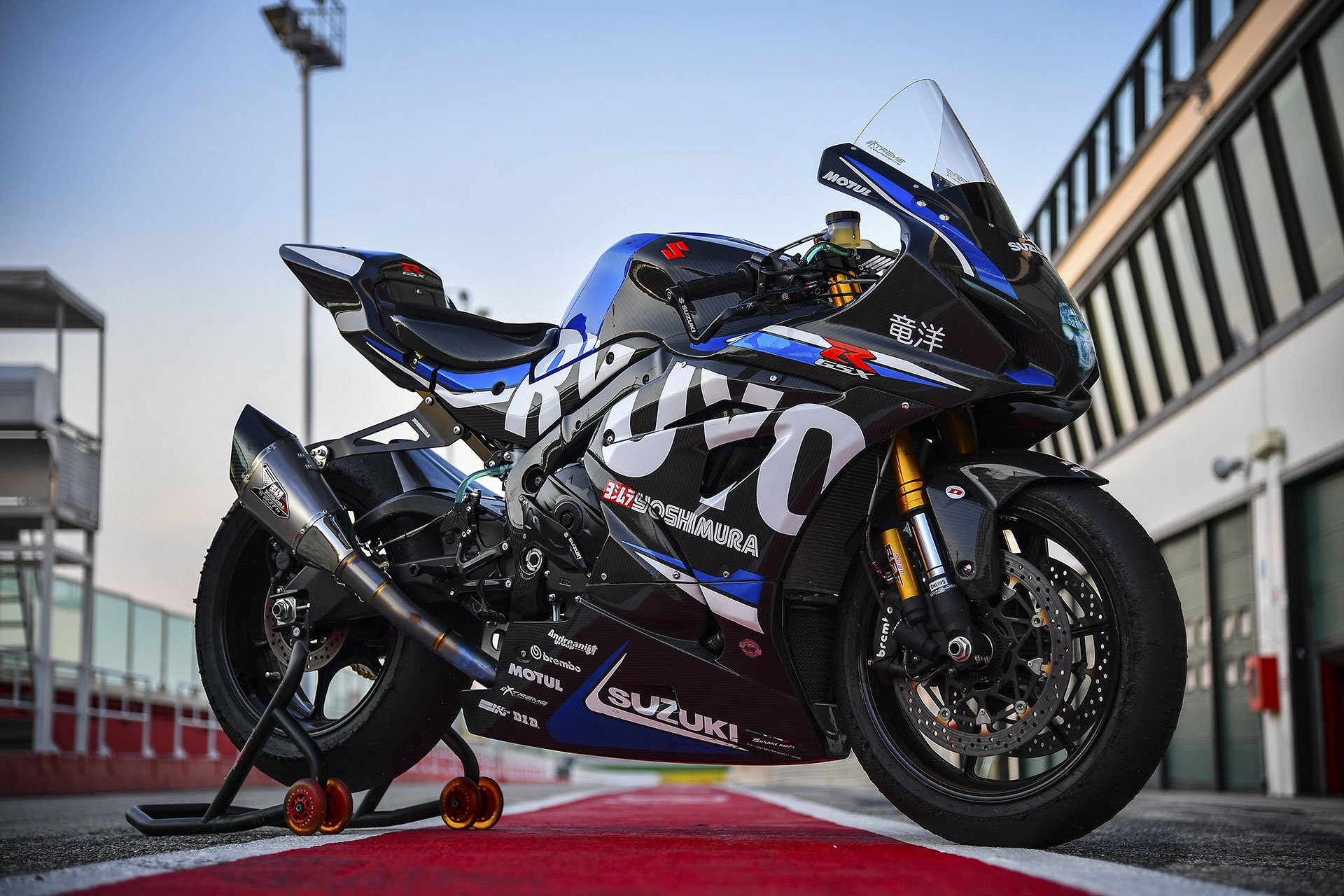 suzuki showcases its most lethal gsx r1000r yet it 39 s called the ryuyo top speed. Black Bedroom Furniture Sets. Home Design Ideas