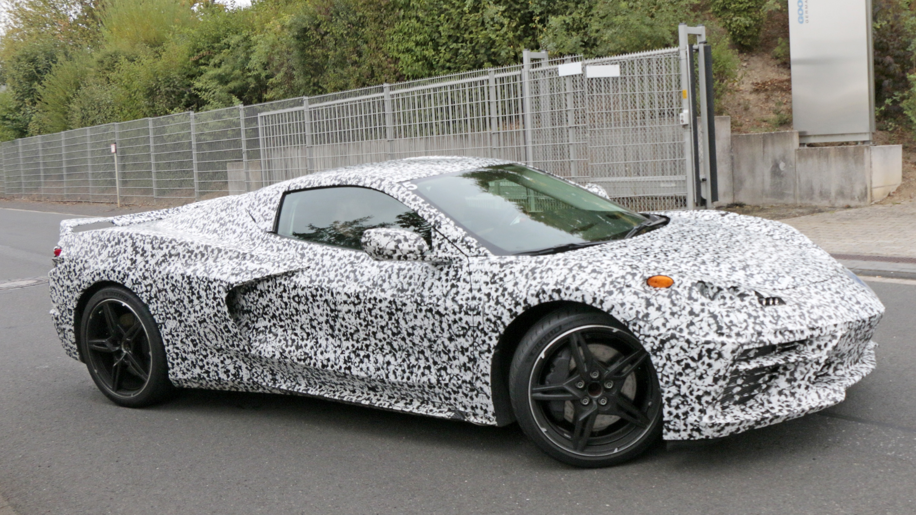 The Mid-Engined, 2020 Chevrolet Corvette Got Caught ...