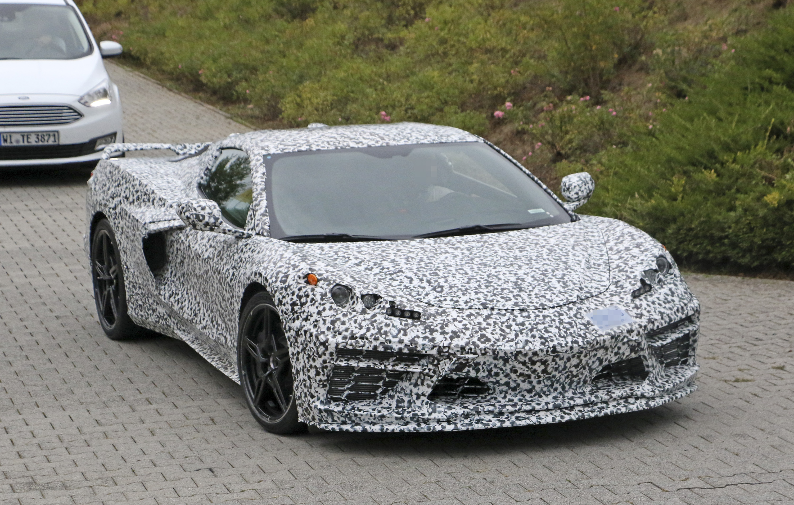 The Mid Engined 2020 Chevrolet Corvette Got Caught Testing On