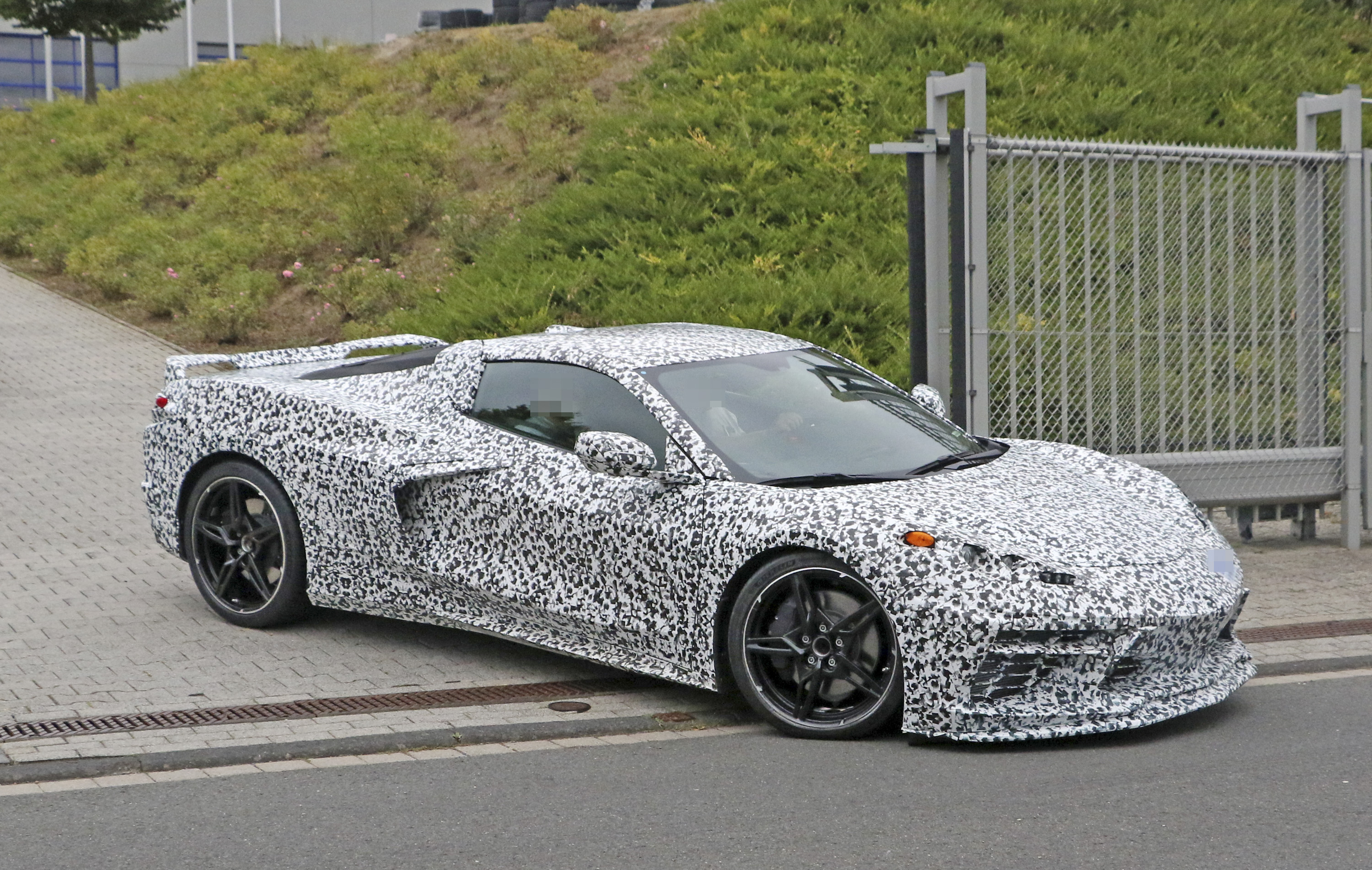 Is Chevy Afraid To Debut The 2020 Chevy C8 Corvette Next To The 2020