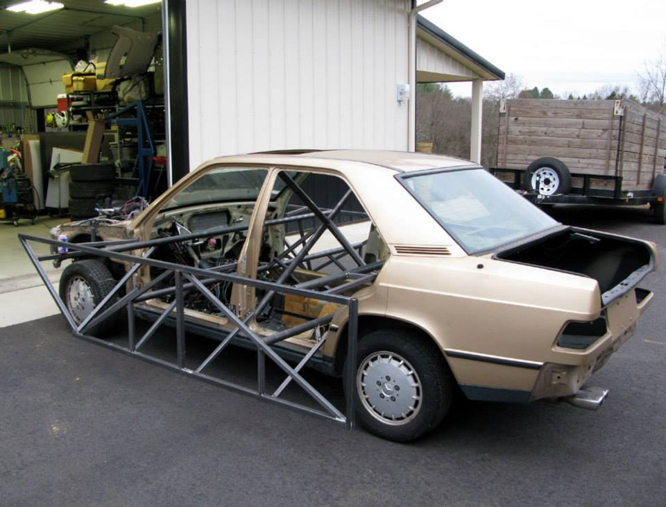 Tuning Firm Puts An 80s Mercedes 190E Body On A 2010