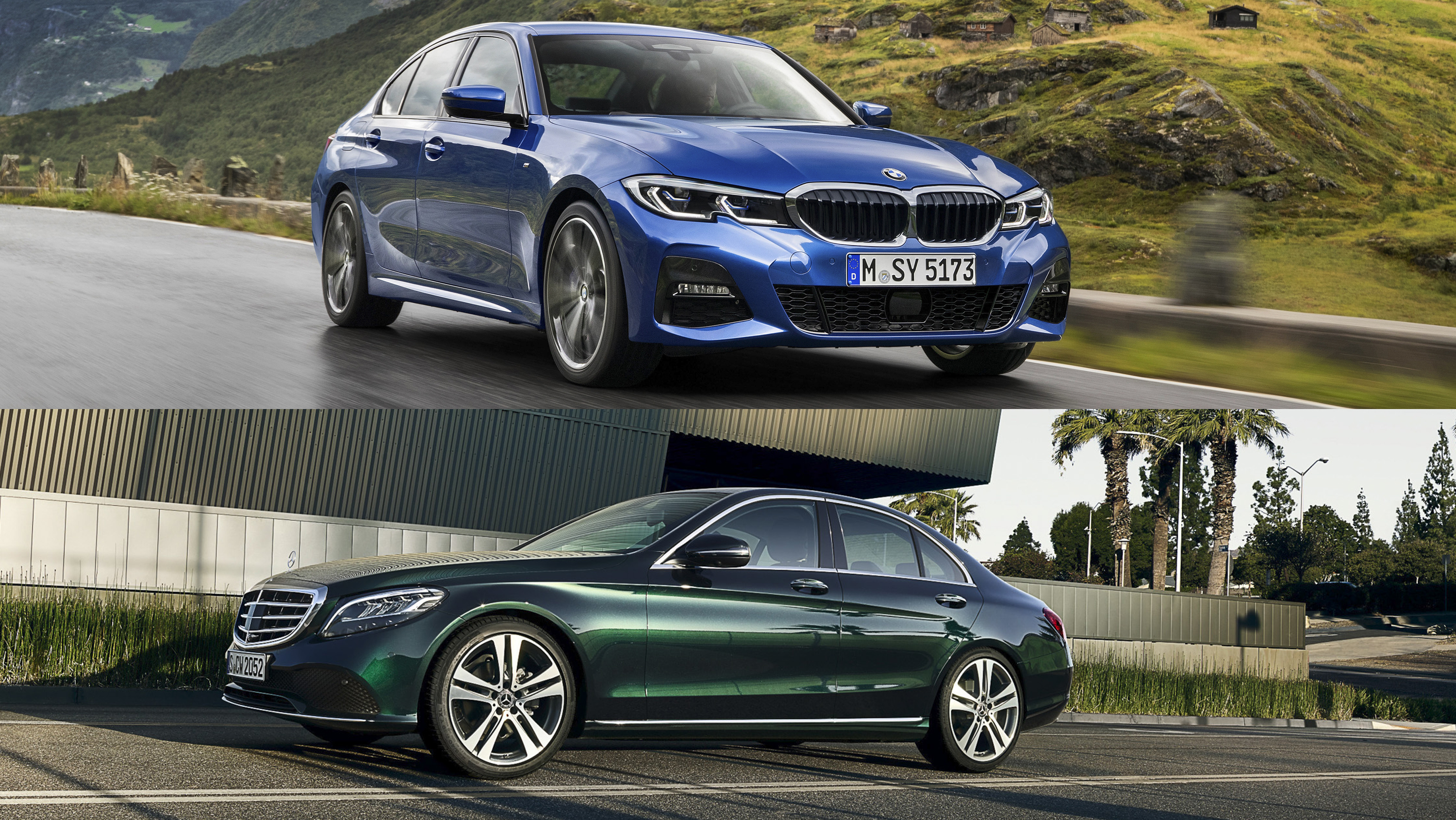 2019 Bmw 3 Series Vs 2019 Mercedes C Class Top Speed