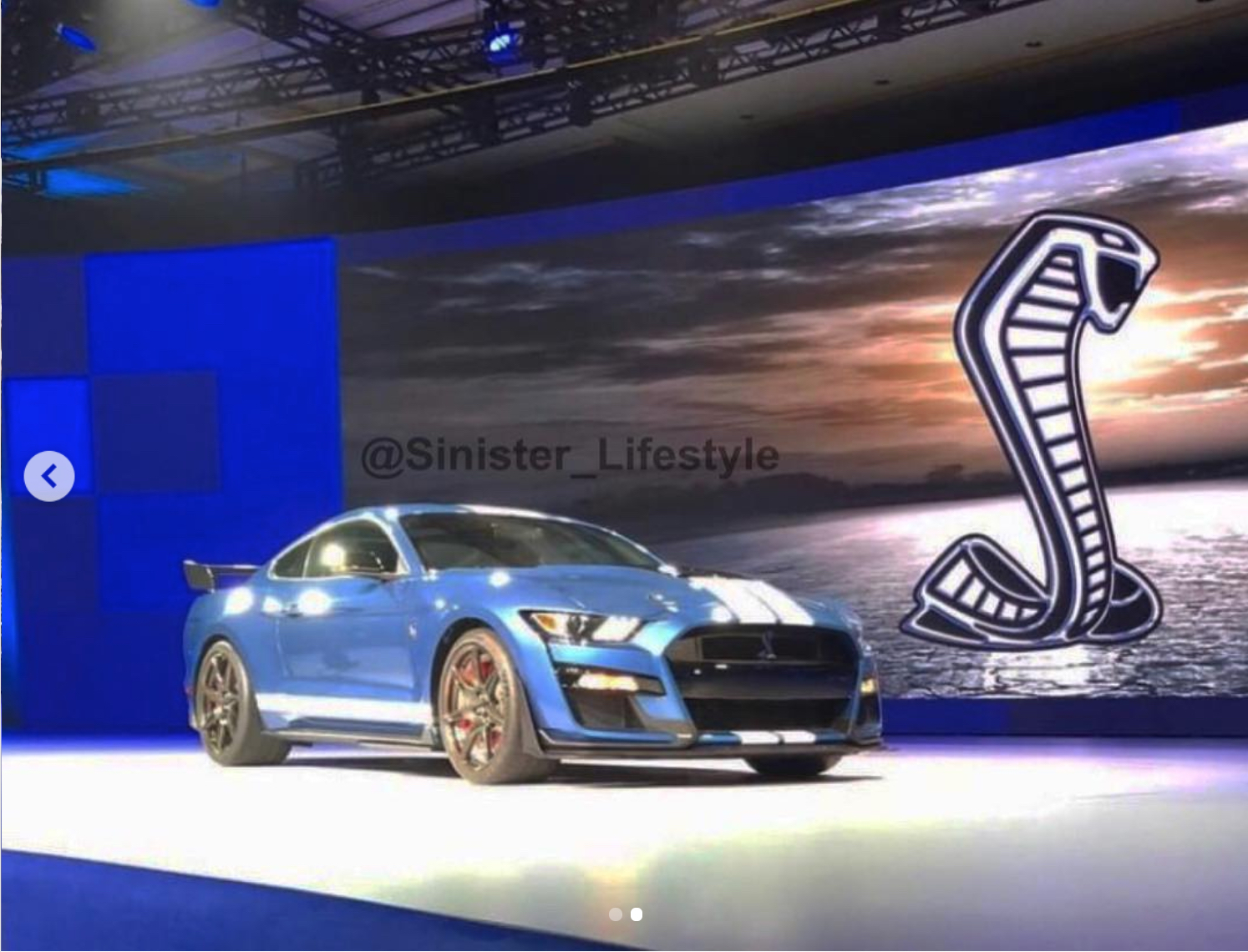 2020 ford mustang shelby gt500 revealed in social media post top speed