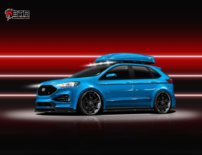 Ford Edge St By Blood Type Racing