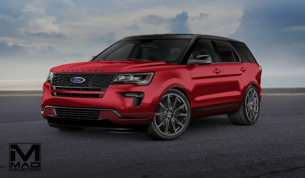 2018 Ford Explorer Sport By Mad Industries Top Speed