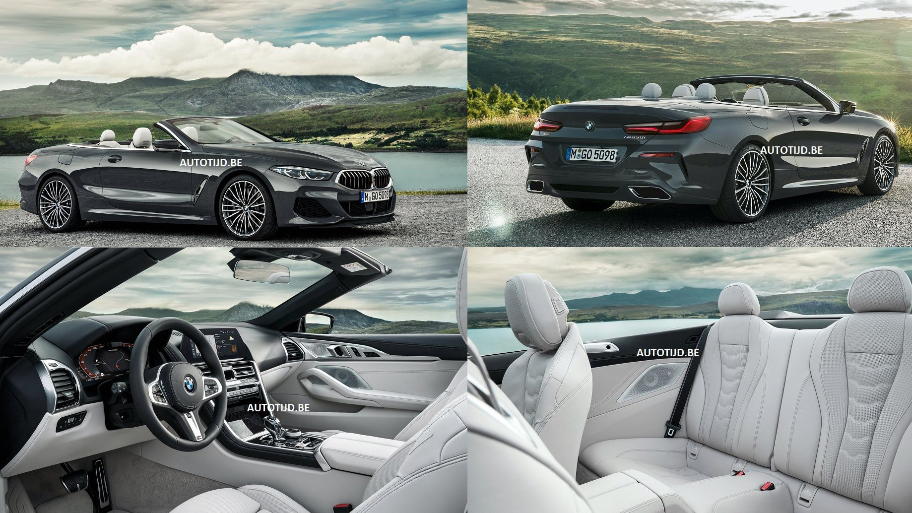 Here's The 2019 BMW 8 Series Convertible Before You're