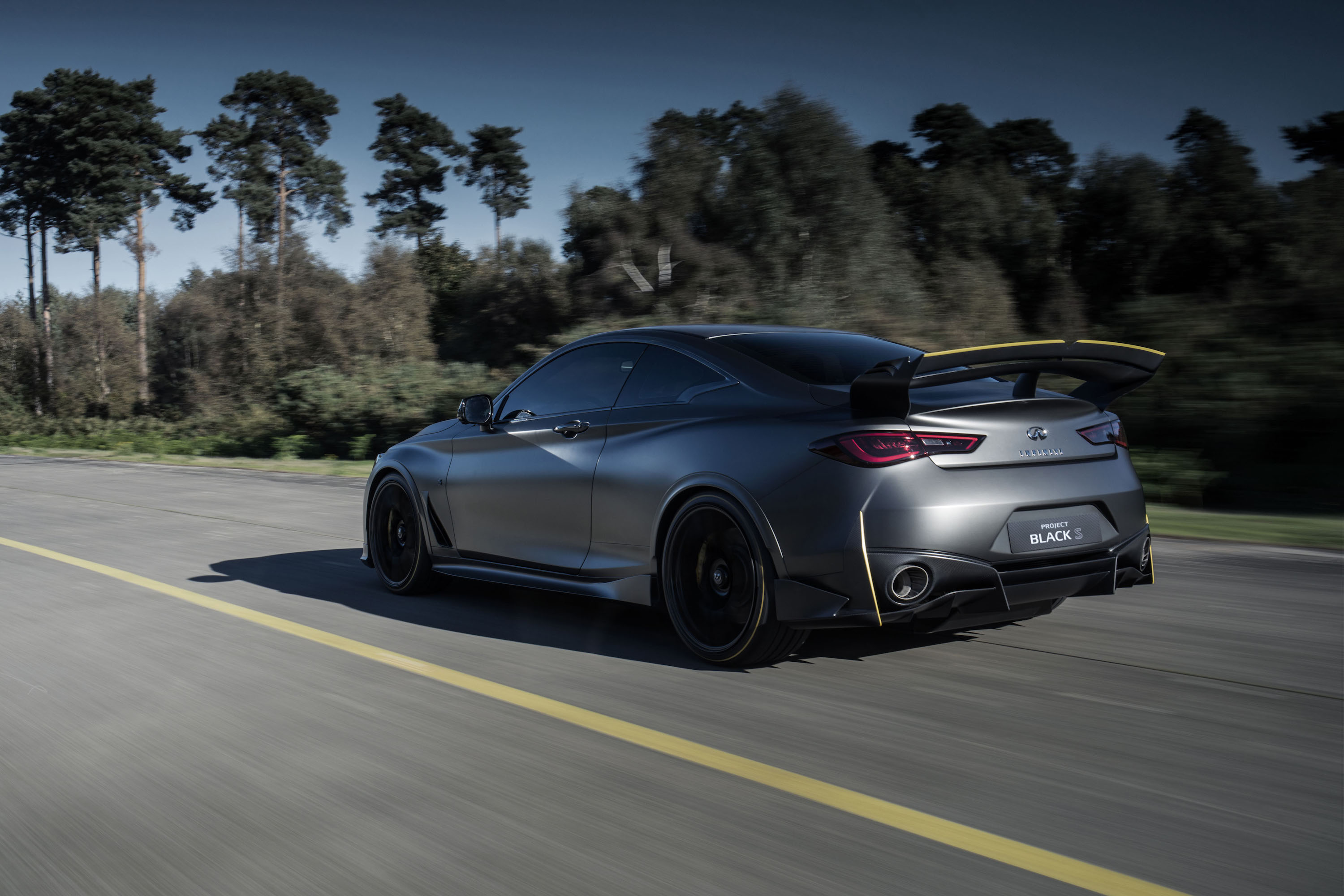 Infiniti Spills The Beans On Sexy Project Black S Top Speed Toyota Developing Worldfirst Vehicle Wiring Harnesses Recycling