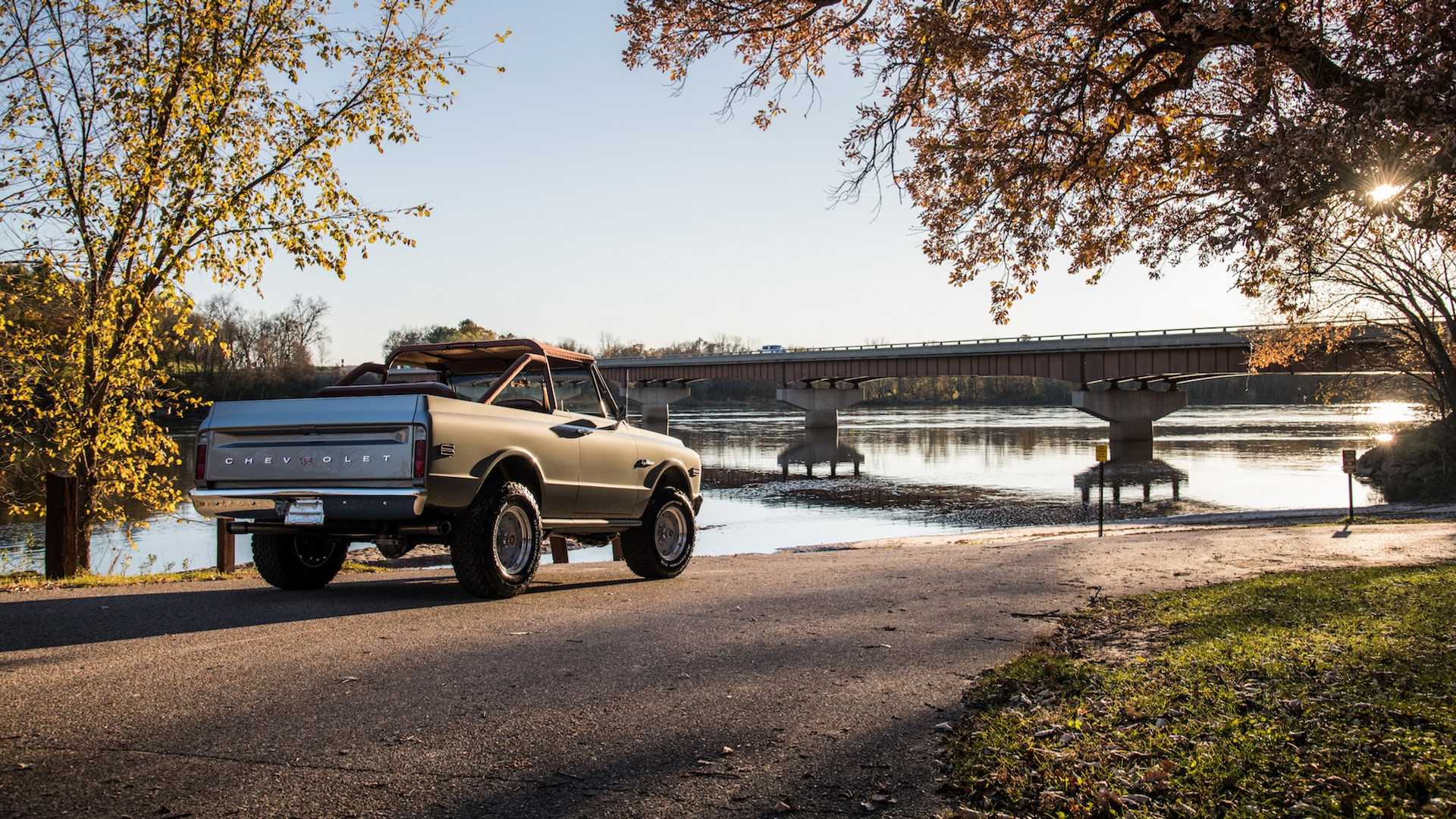 Wallpaper of the Day: K5 Chevy Blazer Restomod by RingBrothers