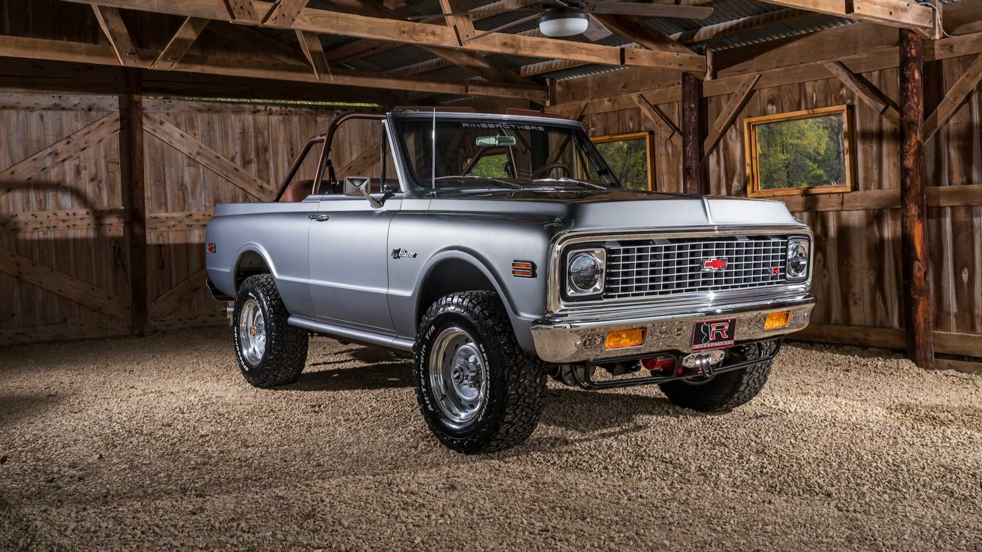 2018 K5 Chevy Blazer Restomod By Ringbrothers Pictures ...