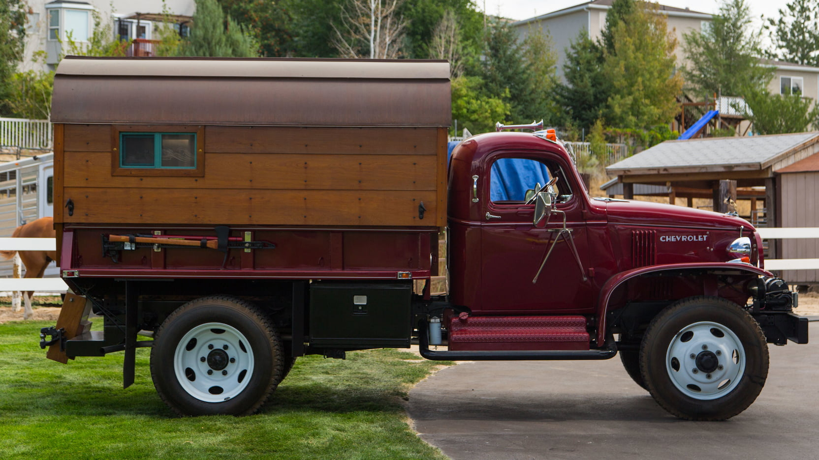 Someone Is Auctioning Off A 1942 Wwii Army Truck Turned Camper Toyota Pickup Ss Top Speed