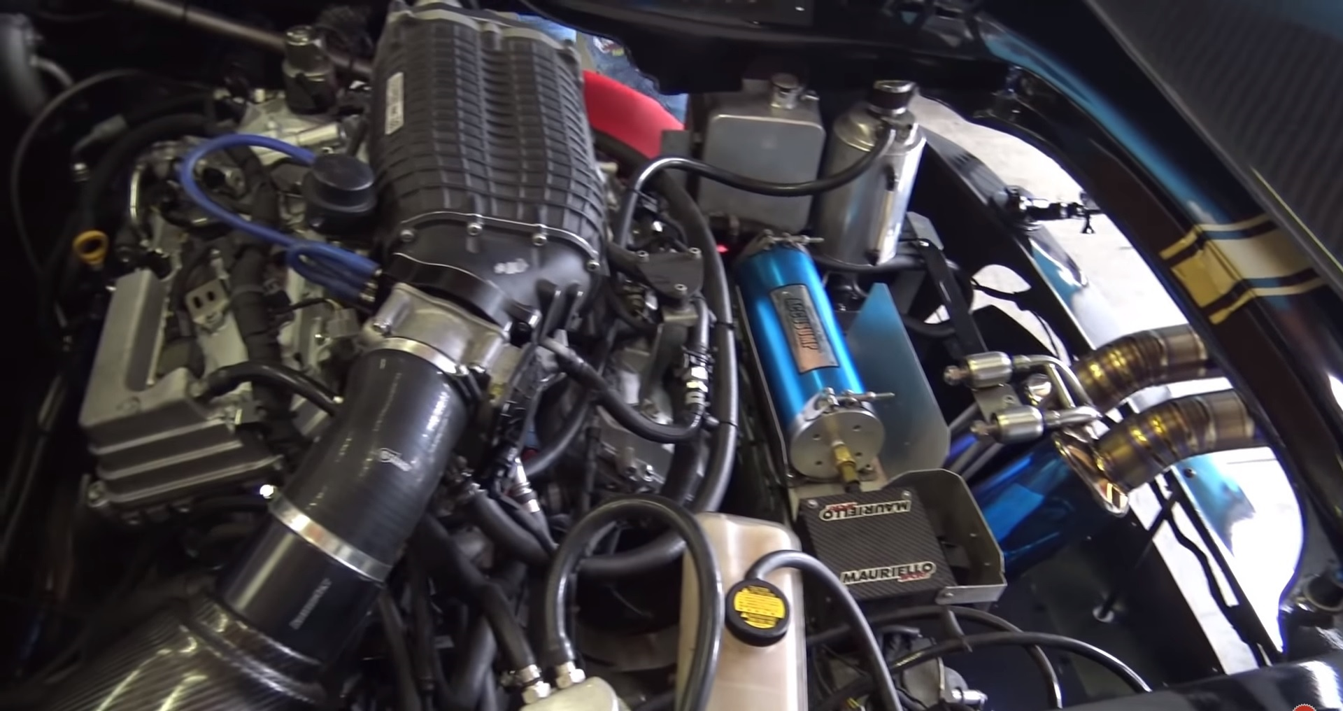 Someone Slapped A Harrop TVS1900 Supercharger Onto A Series