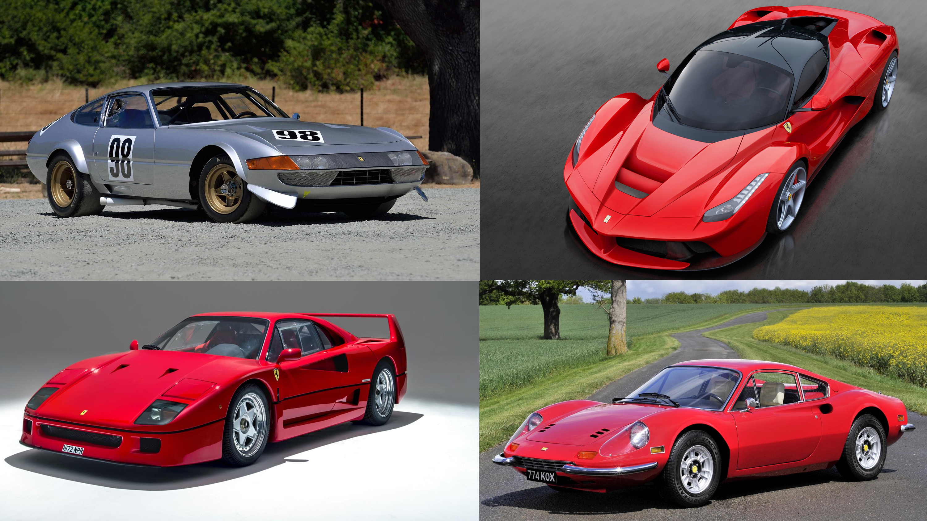 The 10 Best Ferraris Of All Time