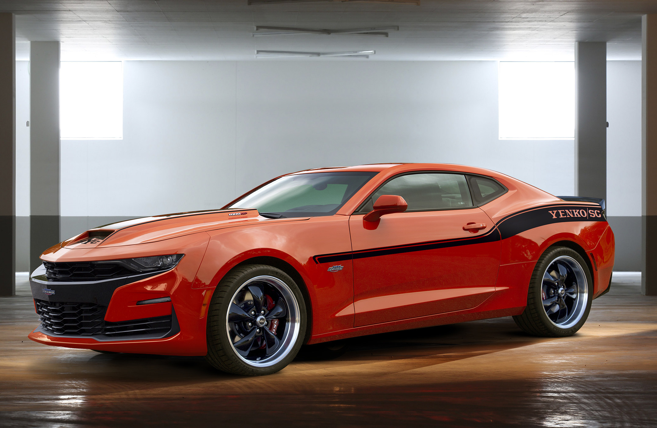 The 2019 Yenko Chevy Camaro Is A 1 000 Hp Monstrosity Of A